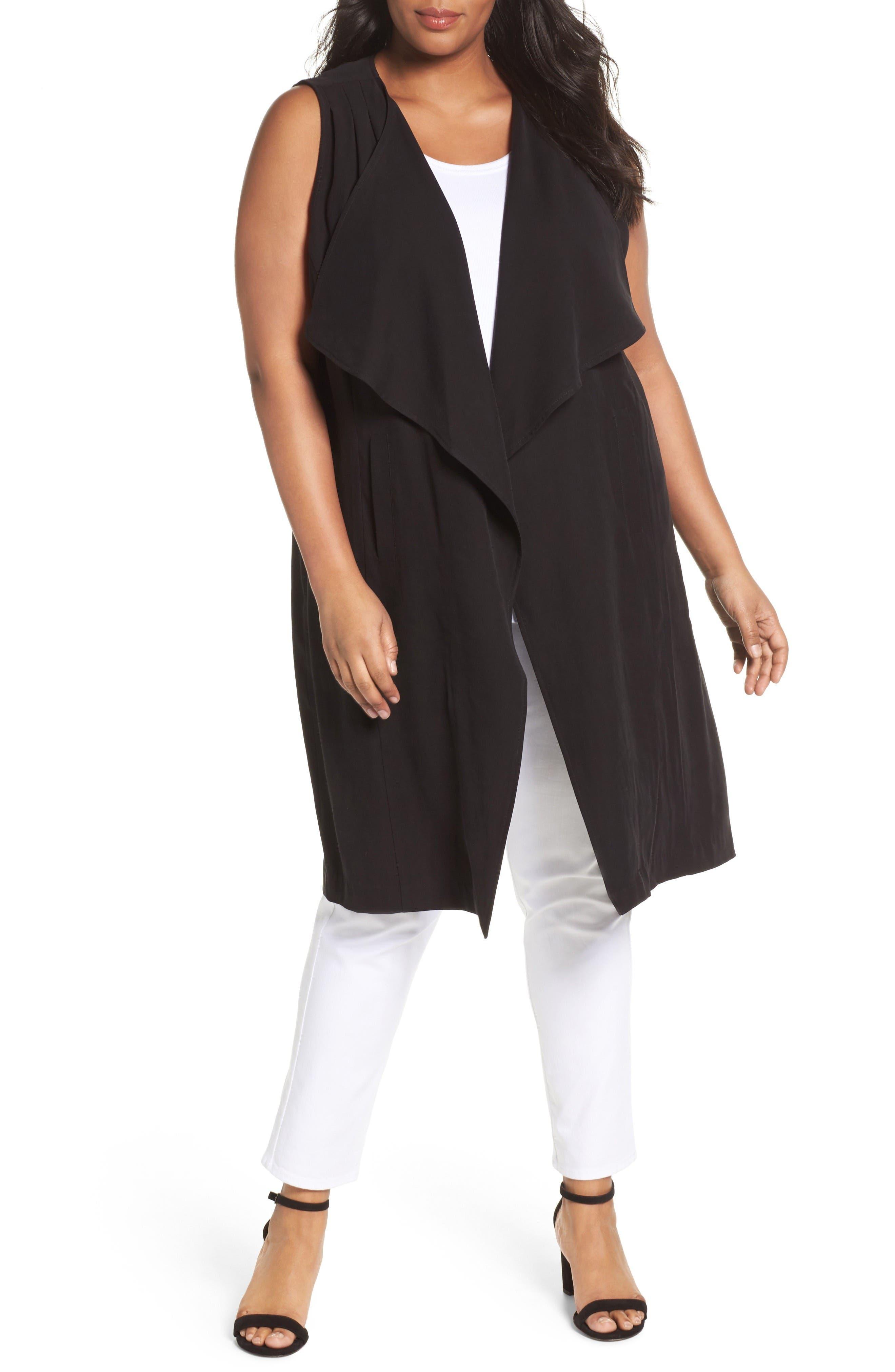 Sejour Duster Vest (Plus Size)