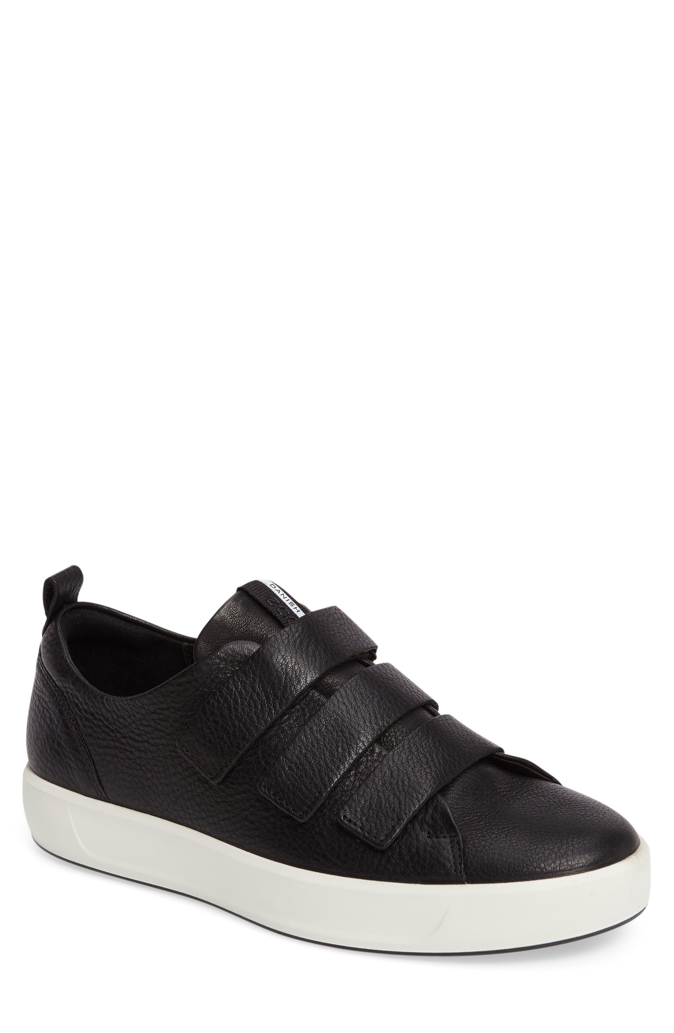 ECCO Soft 8 Strap Sneaker (Men)