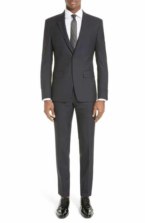 Givenchy Madonna Collar Wool Suit