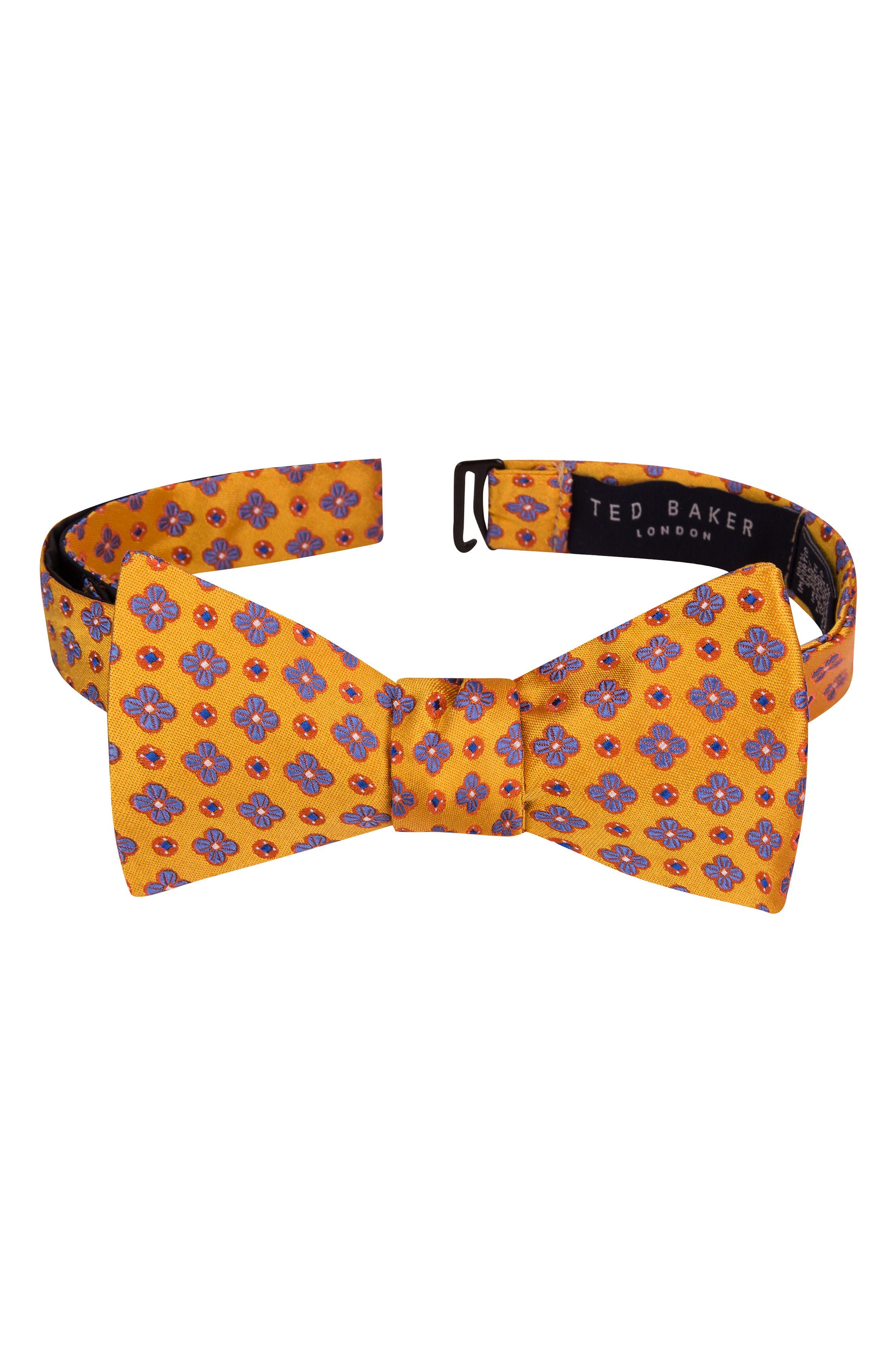 Ted Baker London Lansbury Floral Silk Bow Tie