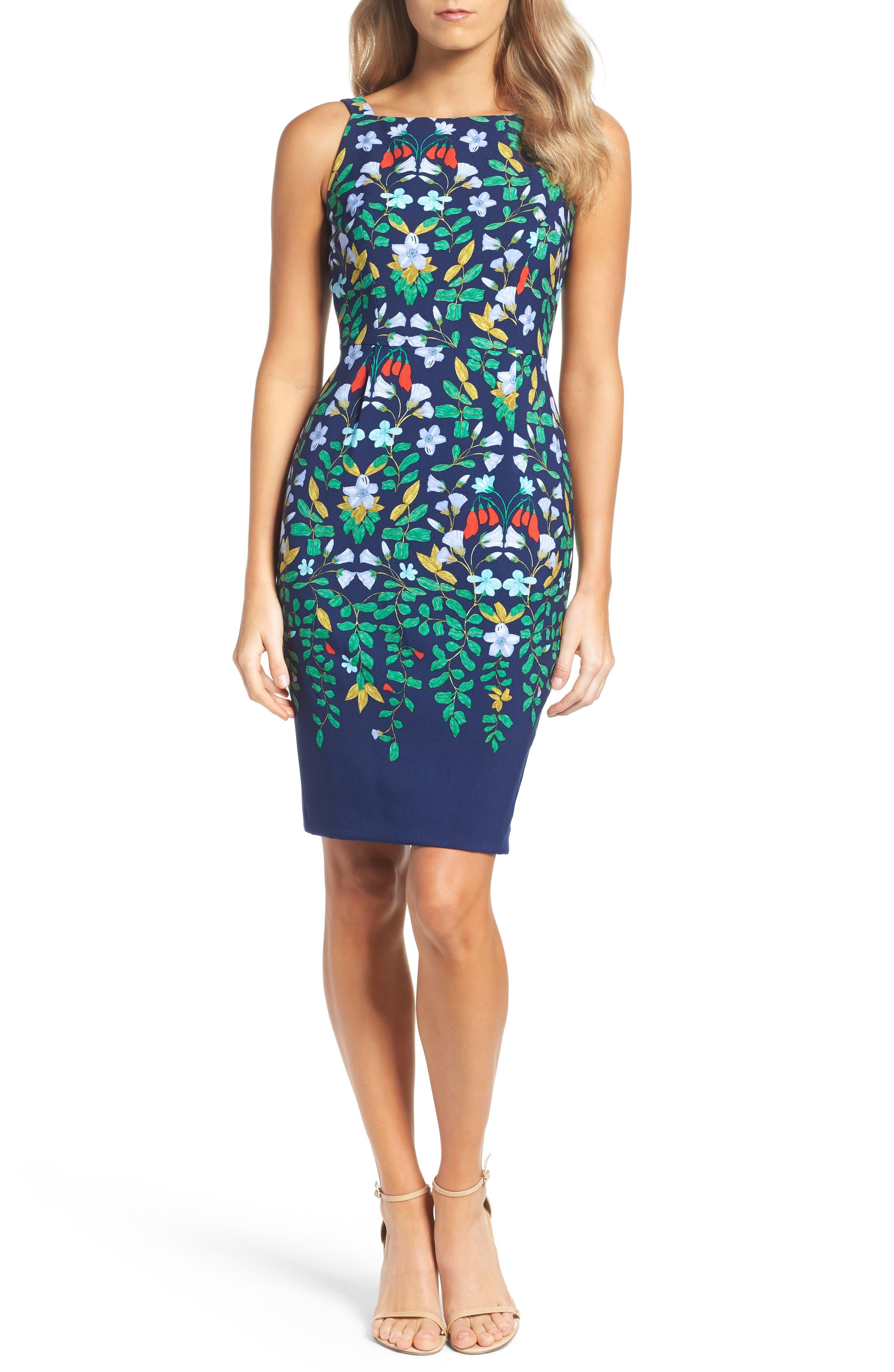 Alternate Image 4  - Adrianna Papell Print Sheath Dress