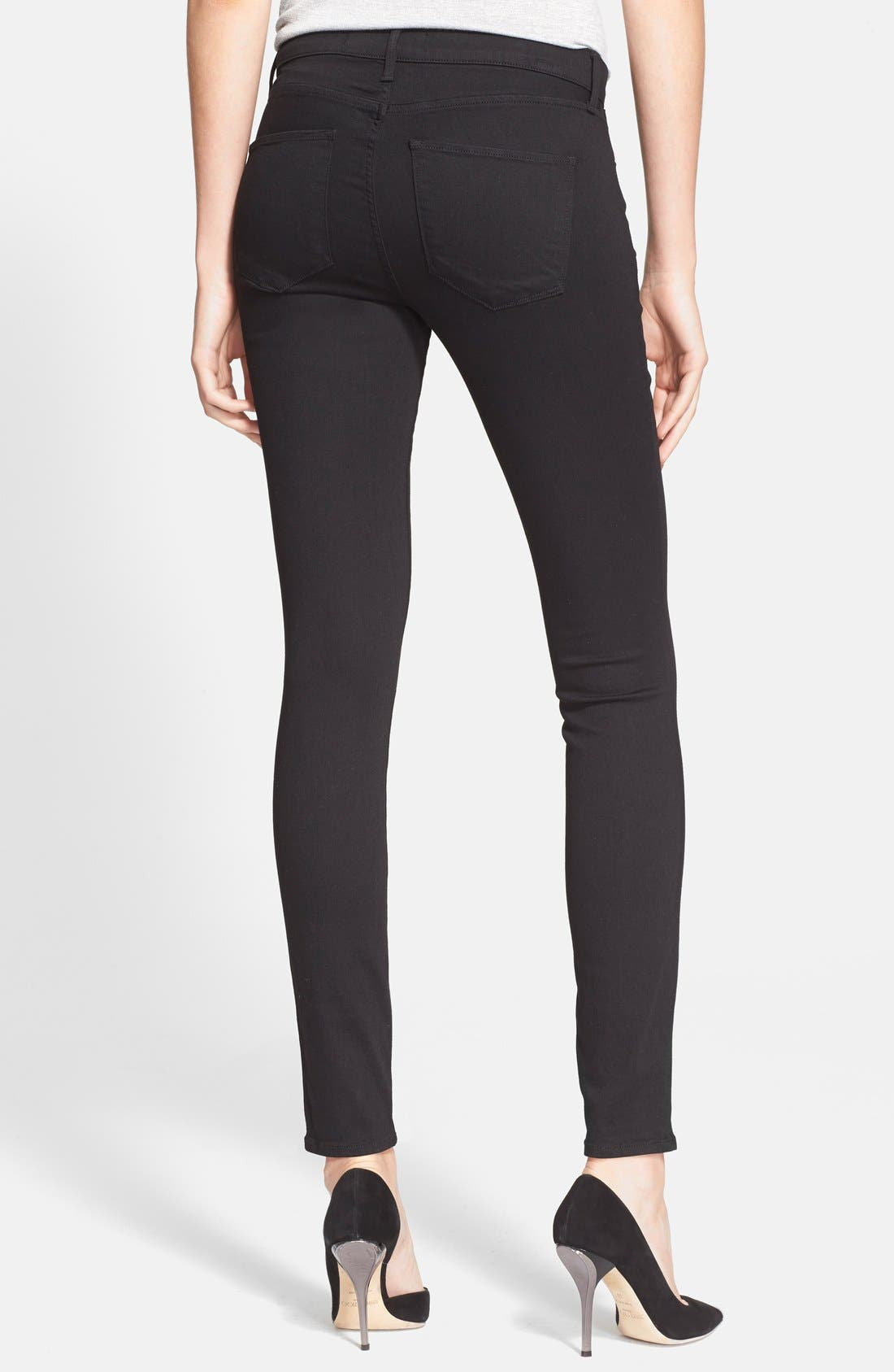Alternate Image 2  - AYR 'The Skinny' Skinny Jeans (Jet Black)