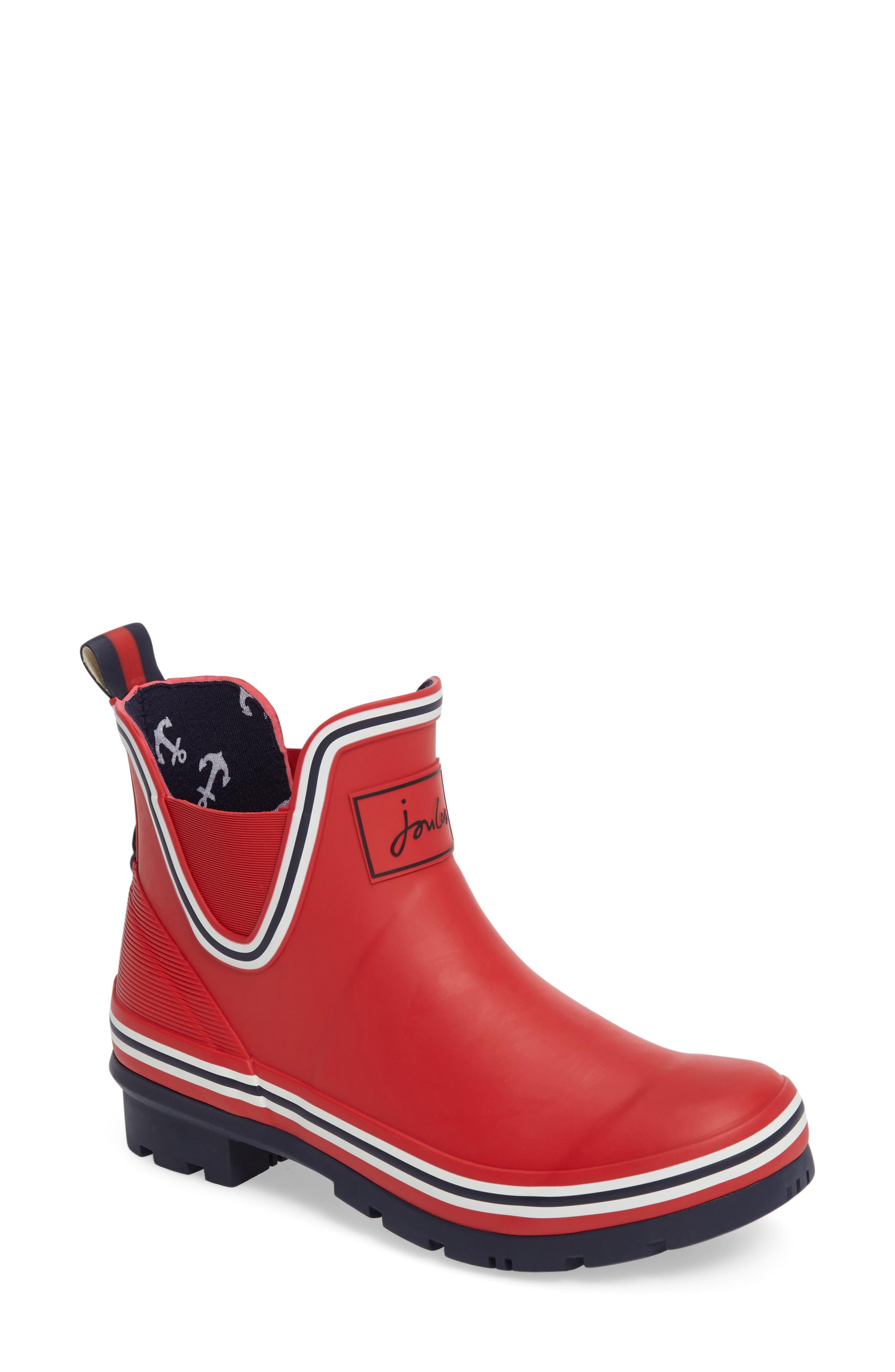 JOULES Seafarer Bob Short Rain Boot