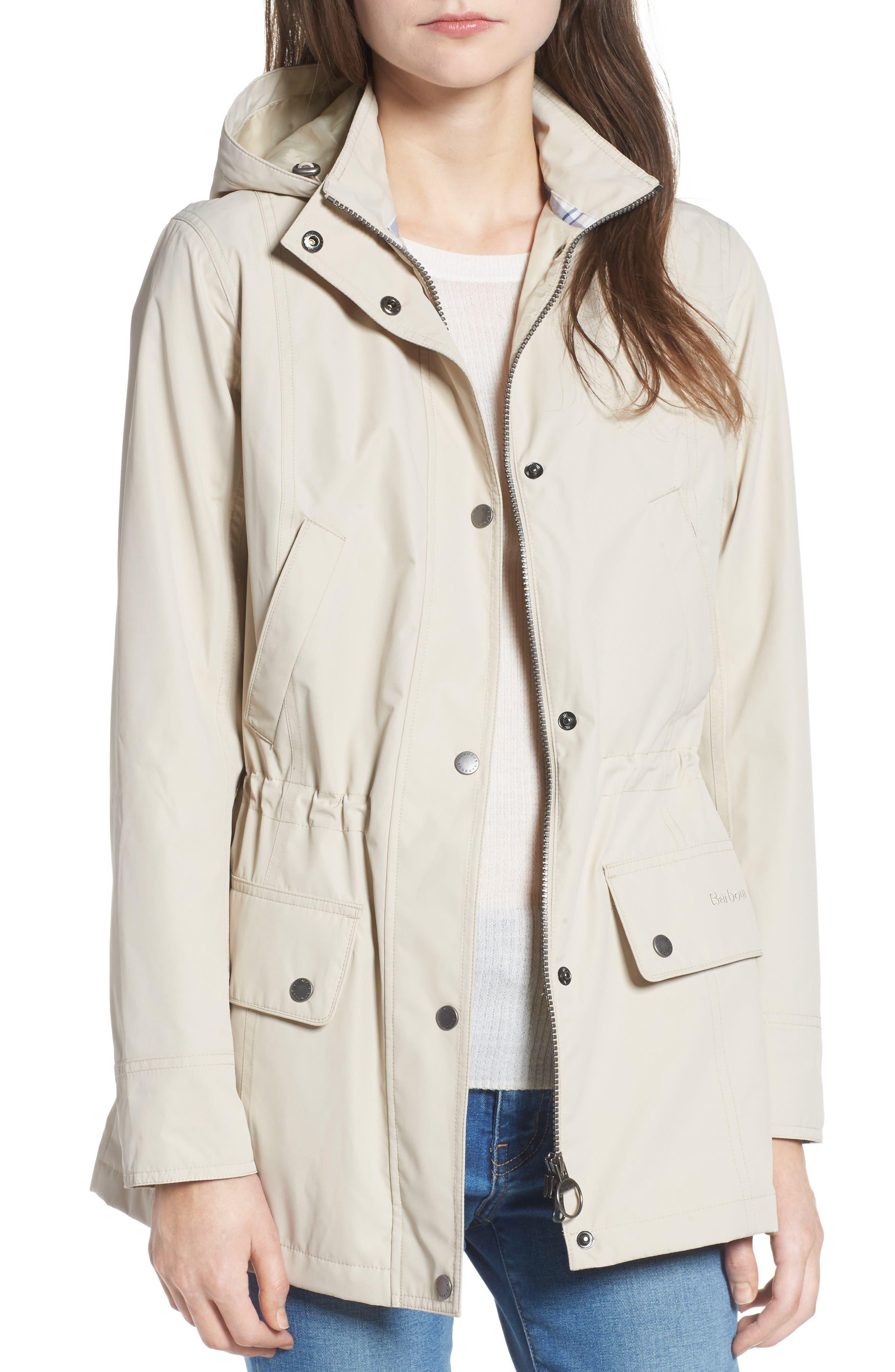 Alternate Image 1 Selected - Barbour Kinnordy Waterproof Hooded Jacket