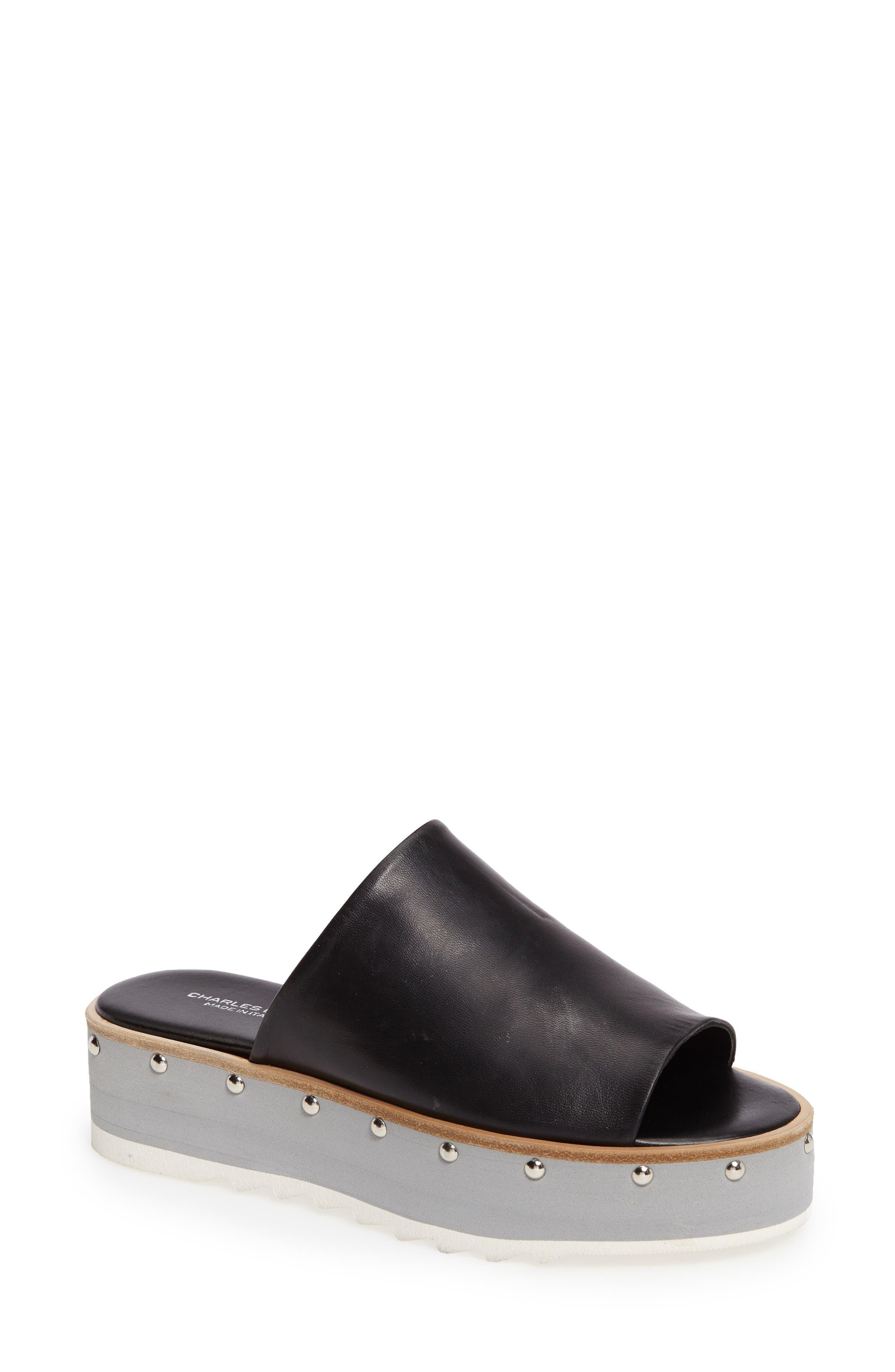 Charles David Float Slide Sandal (Women)