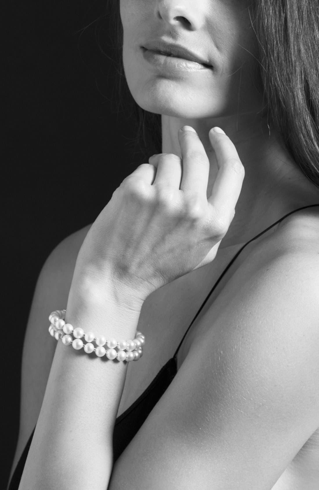 Alternate Image 3  - LAGOS 'Luna' Double Strand Pearl Bracelet