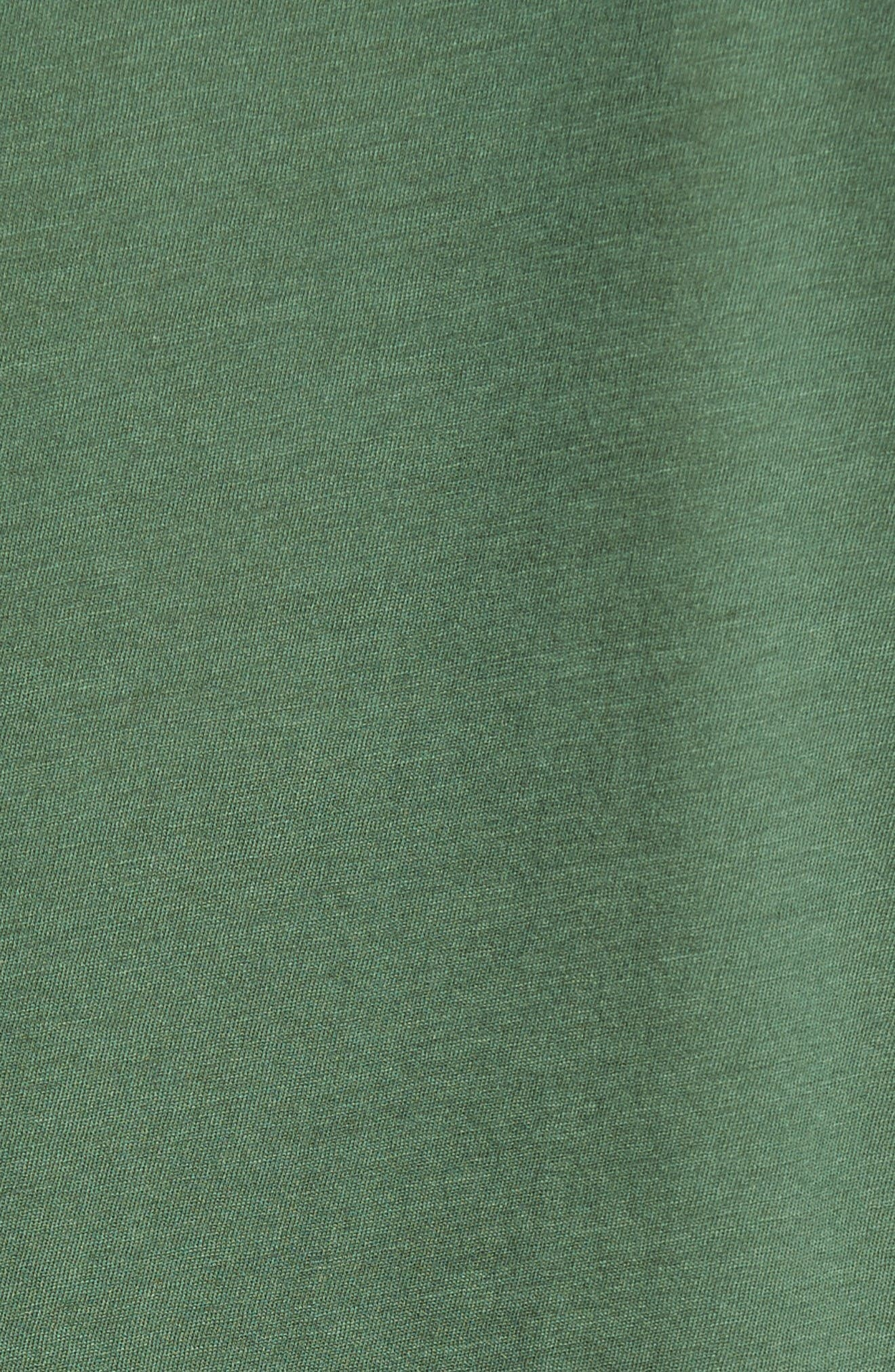 Alternate Image 4  - James Perse Crewneck Jersey T-Shirt