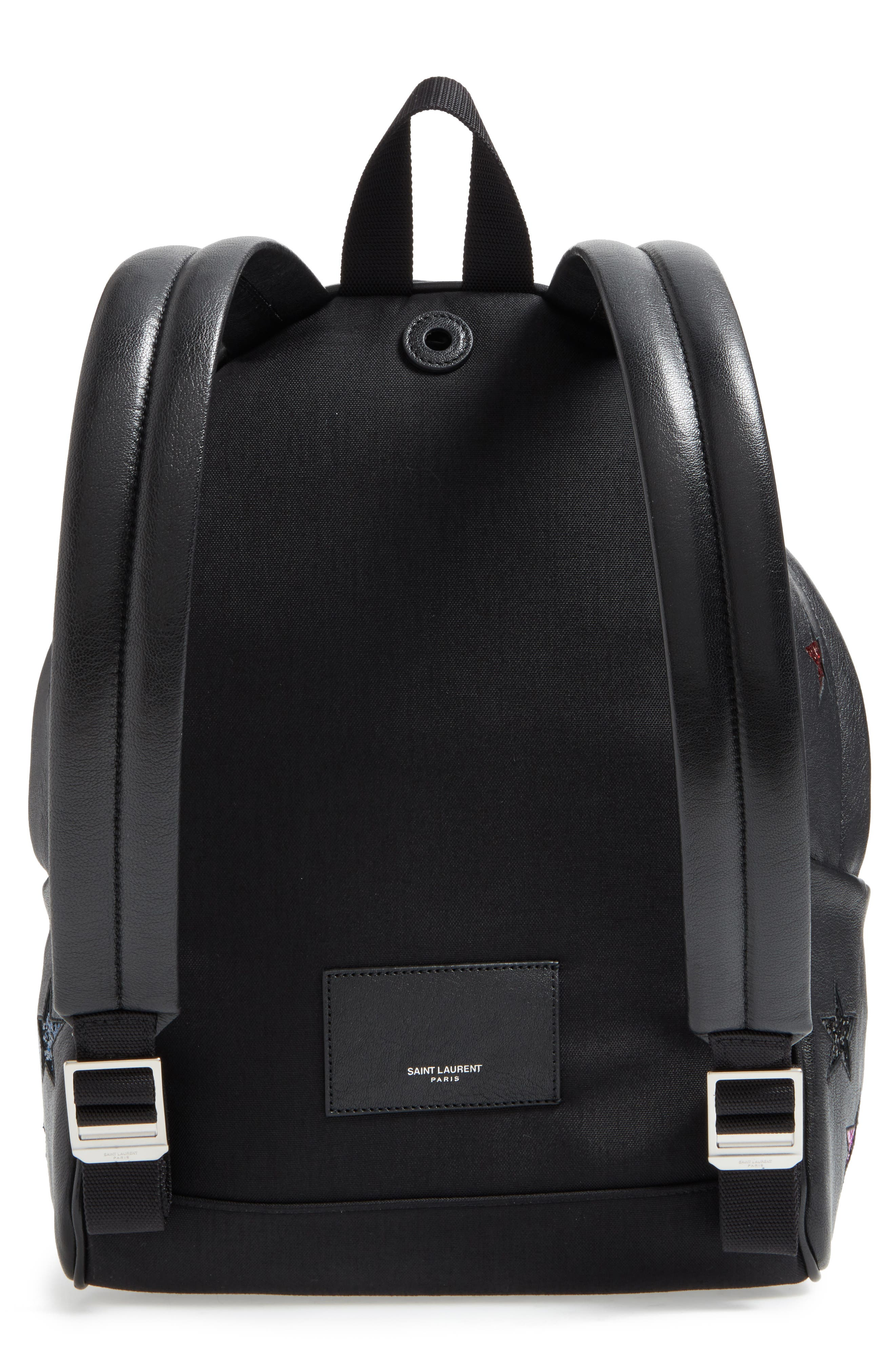 Alternate Image 3  - Saint Laurent Mini City California Star Leather Backpack