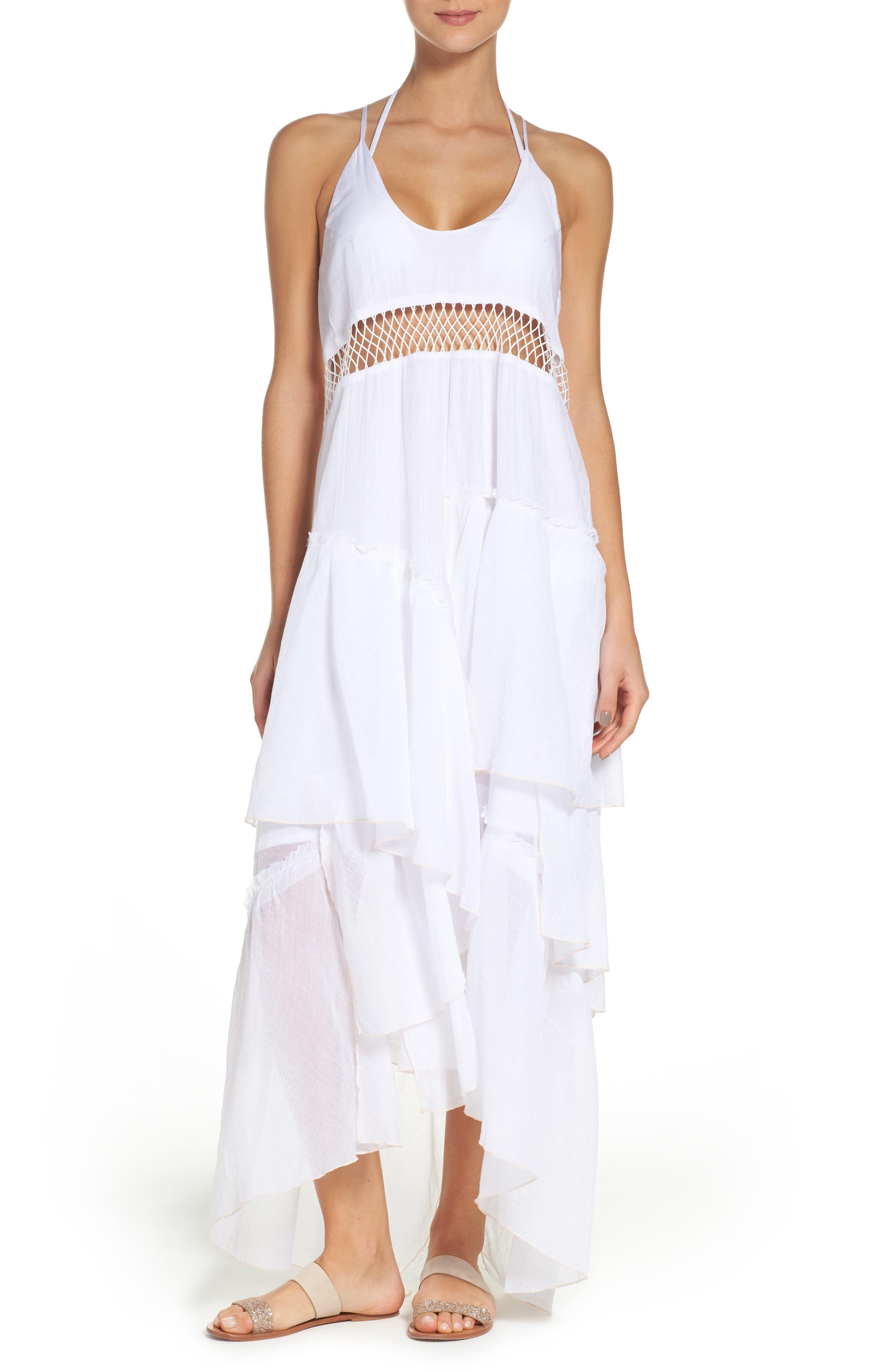 Suboo Closer Frill Cover-Up Maxi Dress