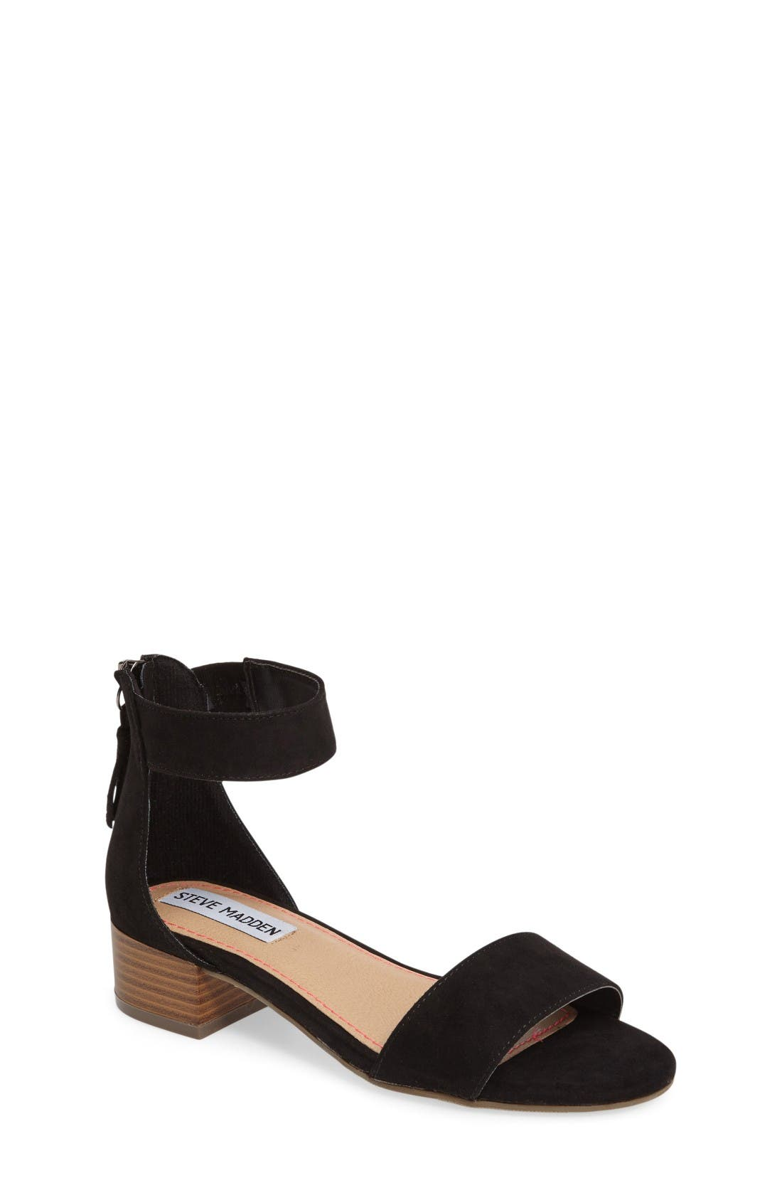 Steve Madden Darcie Block Heel Sandal (Little Kid & Big Kid)