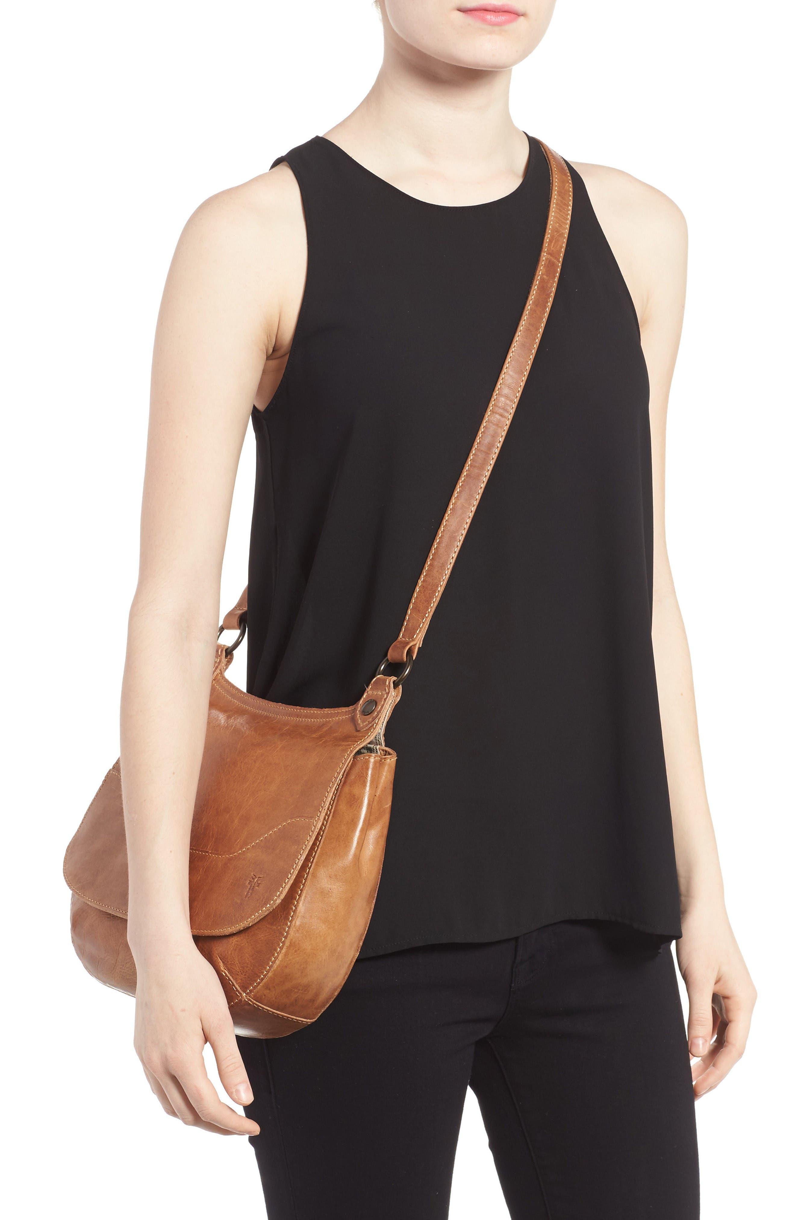Alternate Image 2  - Frye 'Melissa' Leather Crossbody Bag