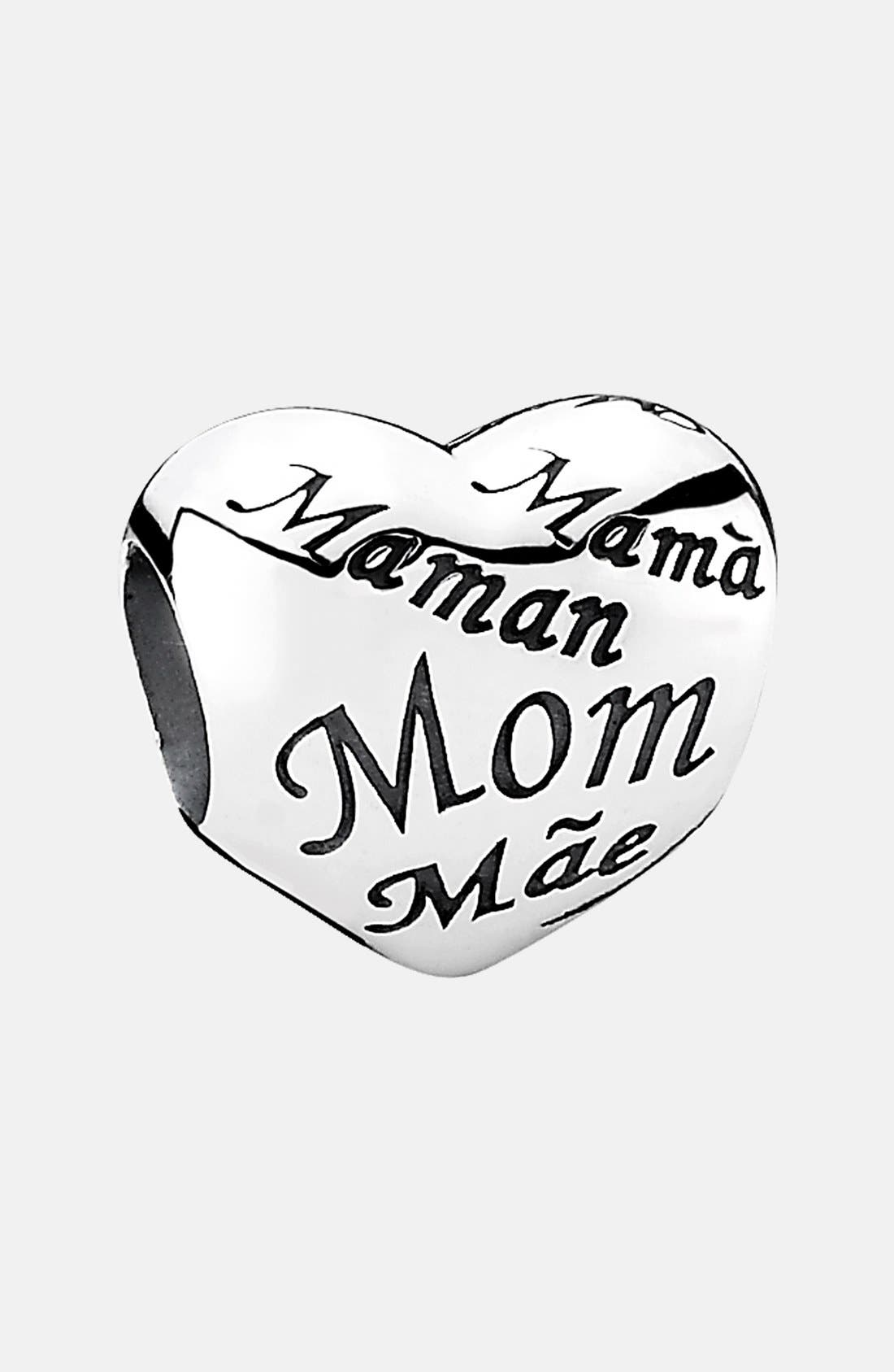 Alternate Image 1 Selected - PANDORA 'Moments - Mother's Heart' Charm