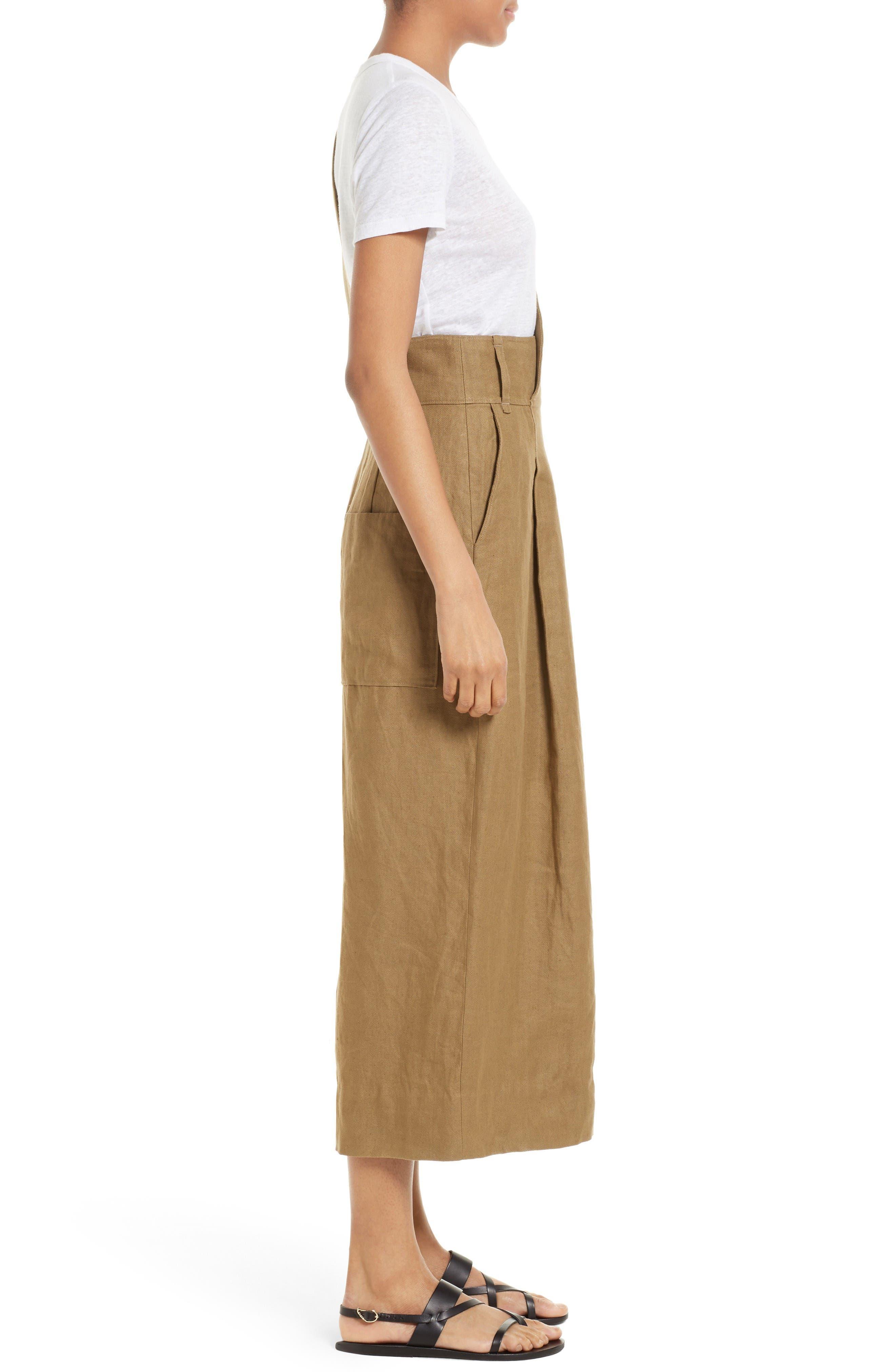 Alternate Image 3  - Tibi Hessian Linen Jumpsuit