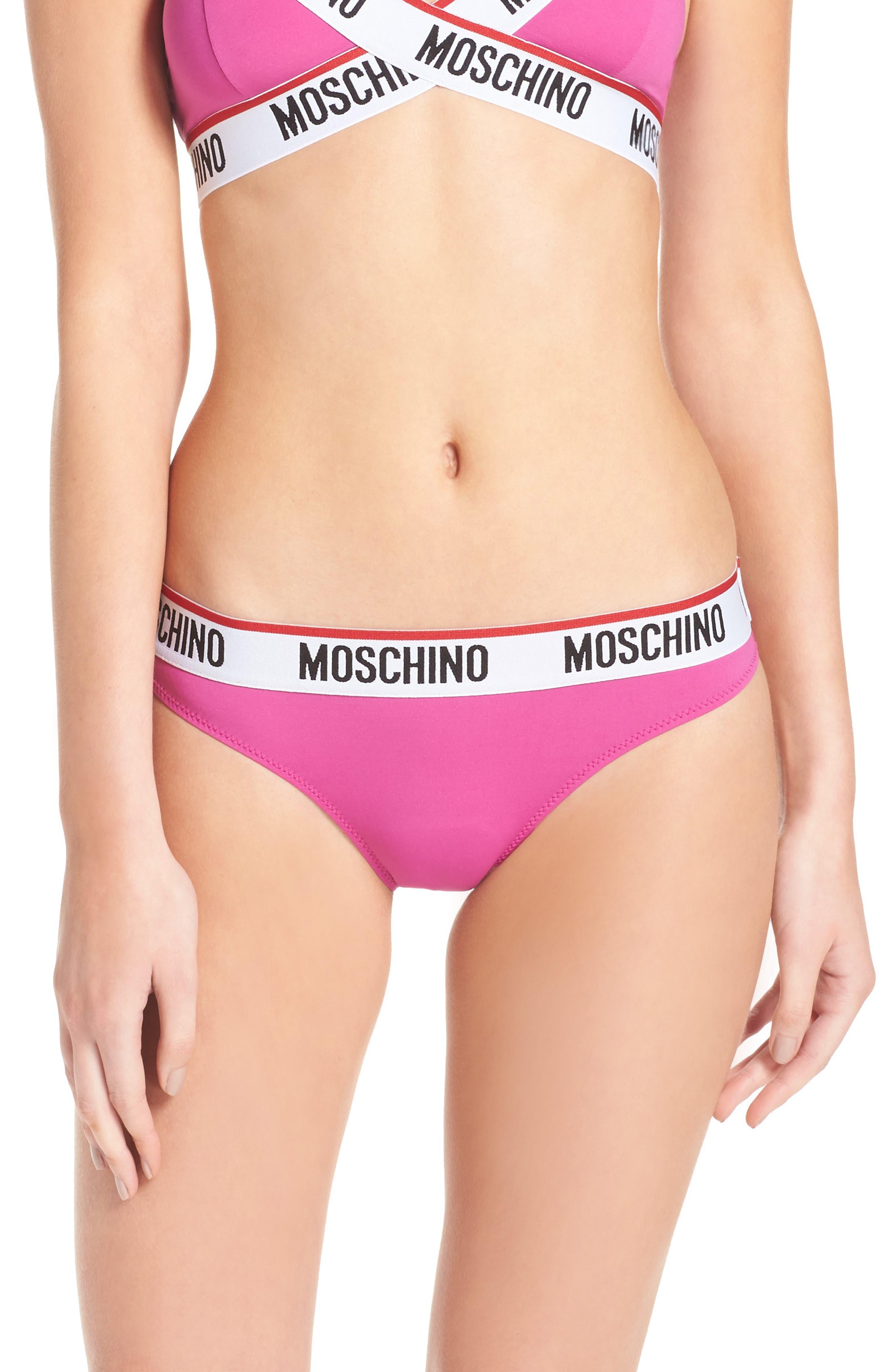 Main Image - Moschino Logo Bikini
