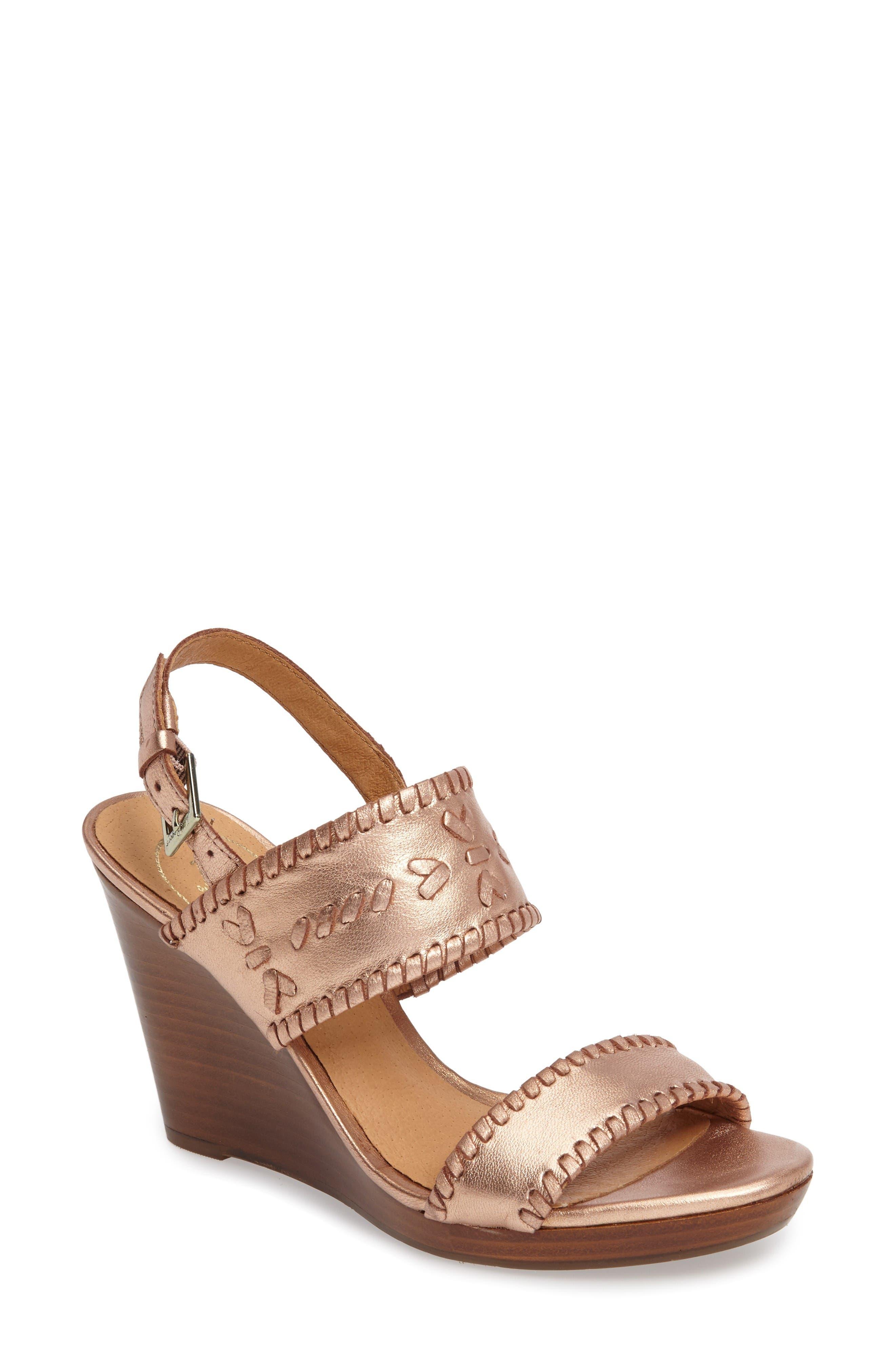 JACK ROGERS 'Vanessa' Wedge Sandal