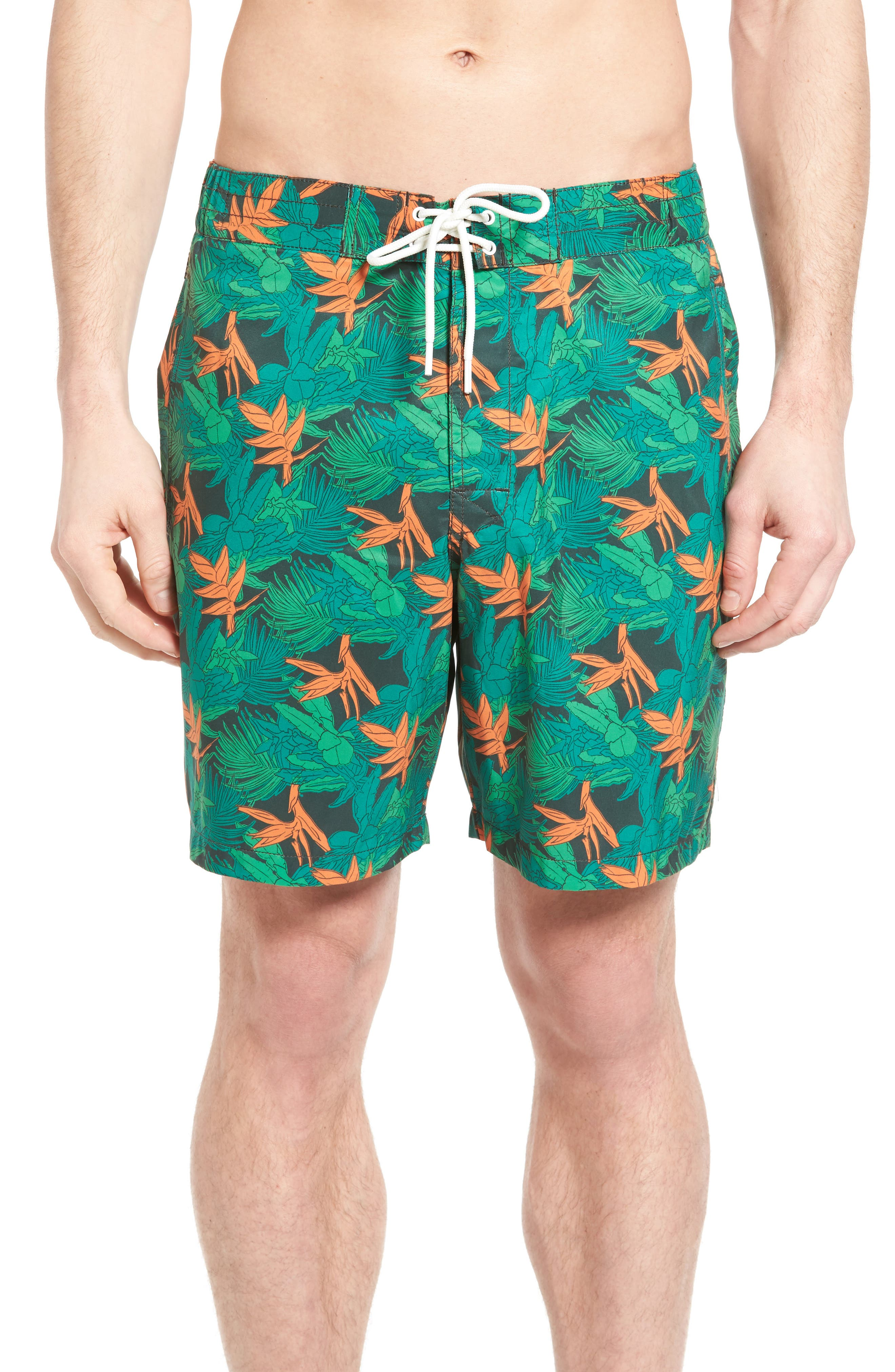 Rodd & Gunn Snells Beach Print Swim Trunks