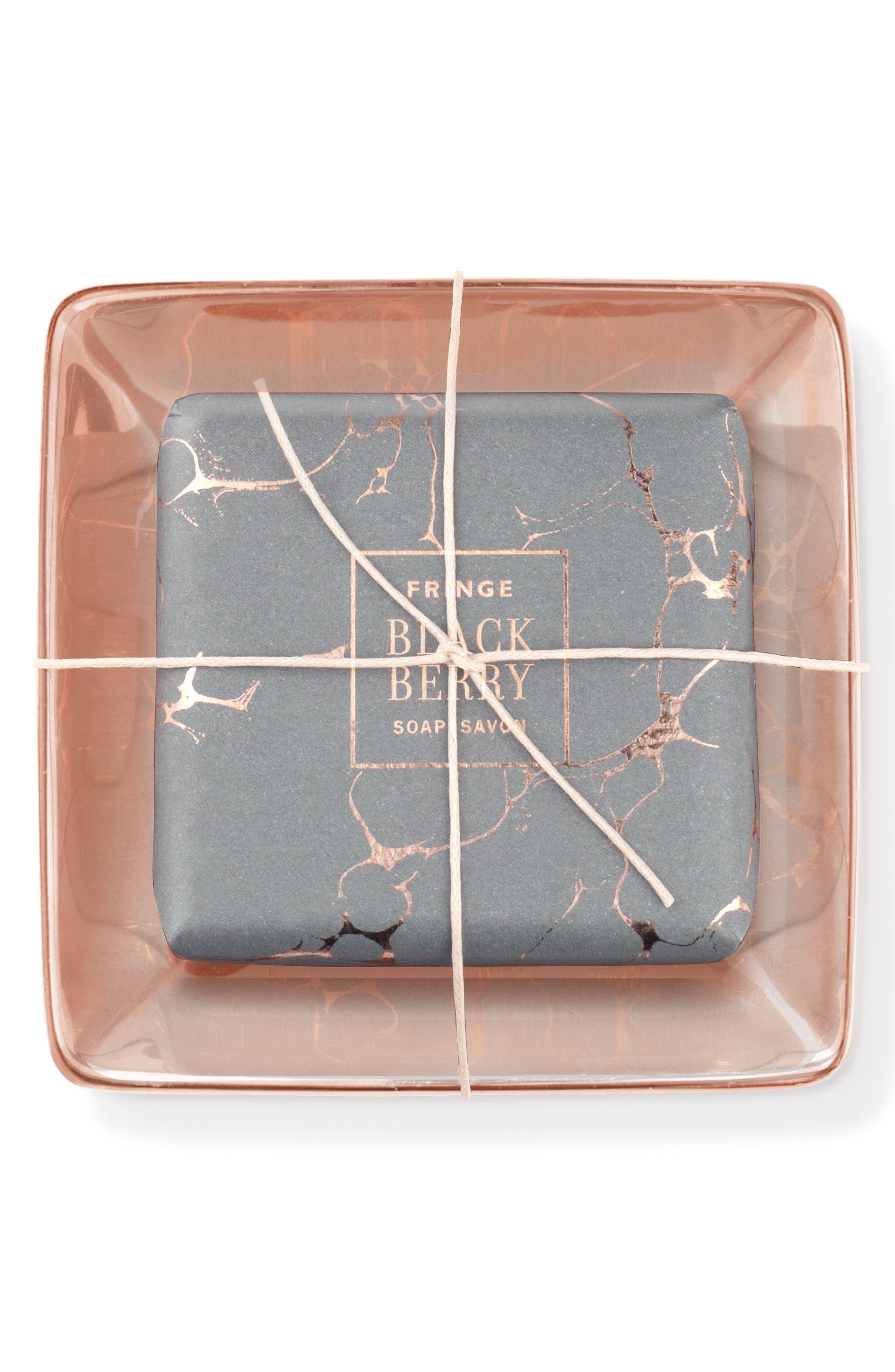 Fringe Studio Marble Soap & Tray