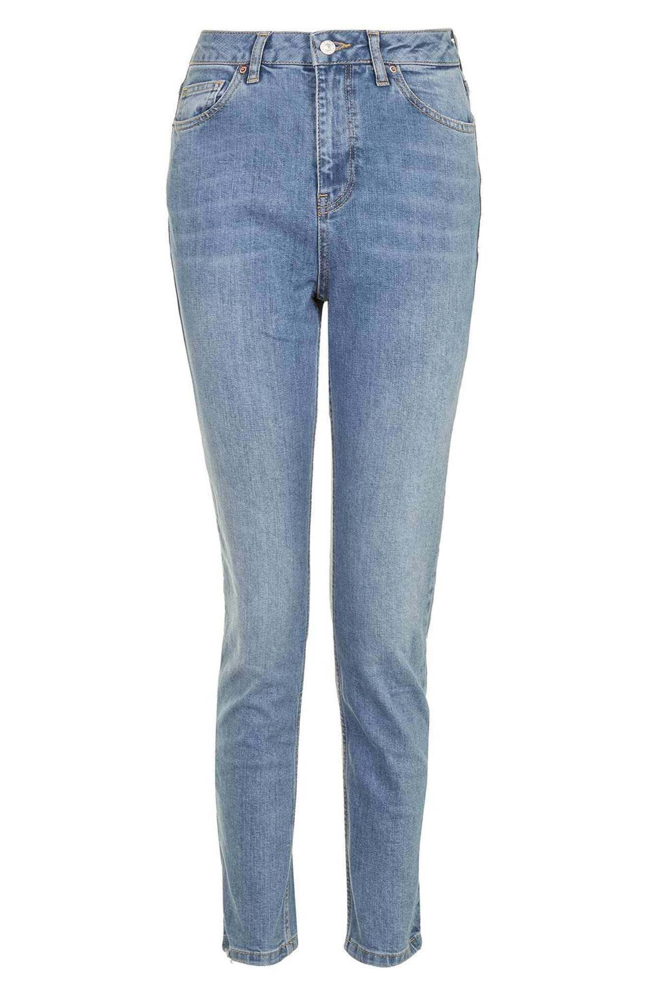 Alternate Image 4  - Topshop Orson Slim Fit Jeans