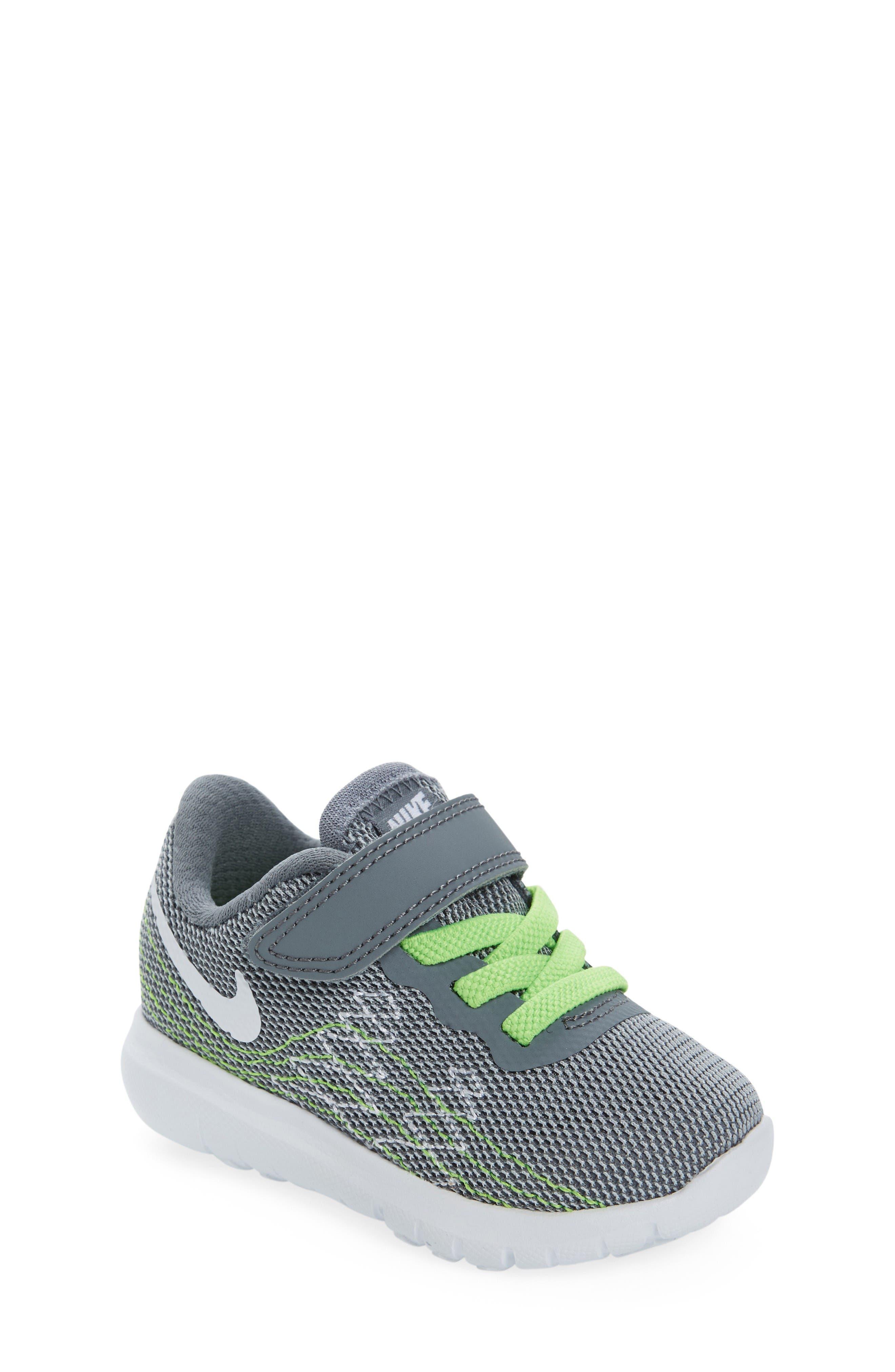 Nike Flex Fury 2 Athletic Shoe Baby Walker & Toddler