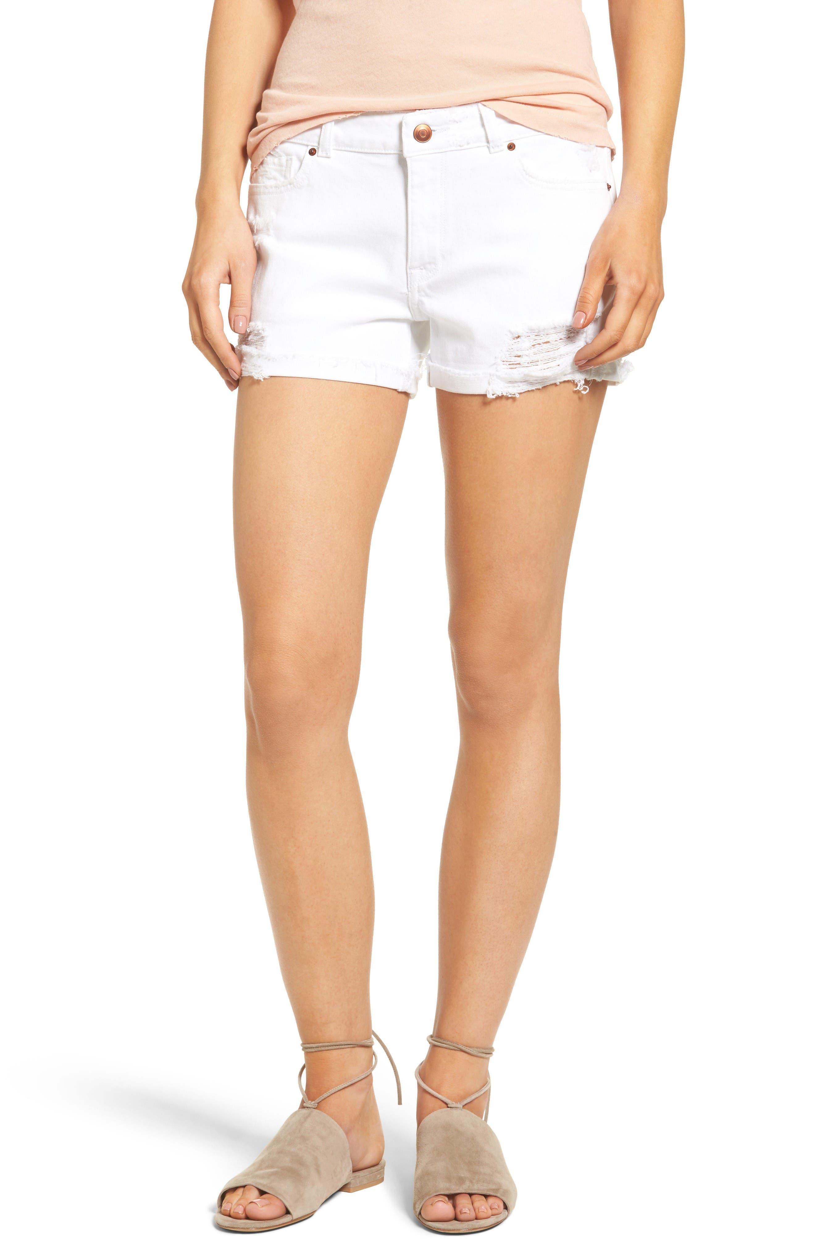 DL1961 Karlie Denim Boyfriend Shorts (Streamline)