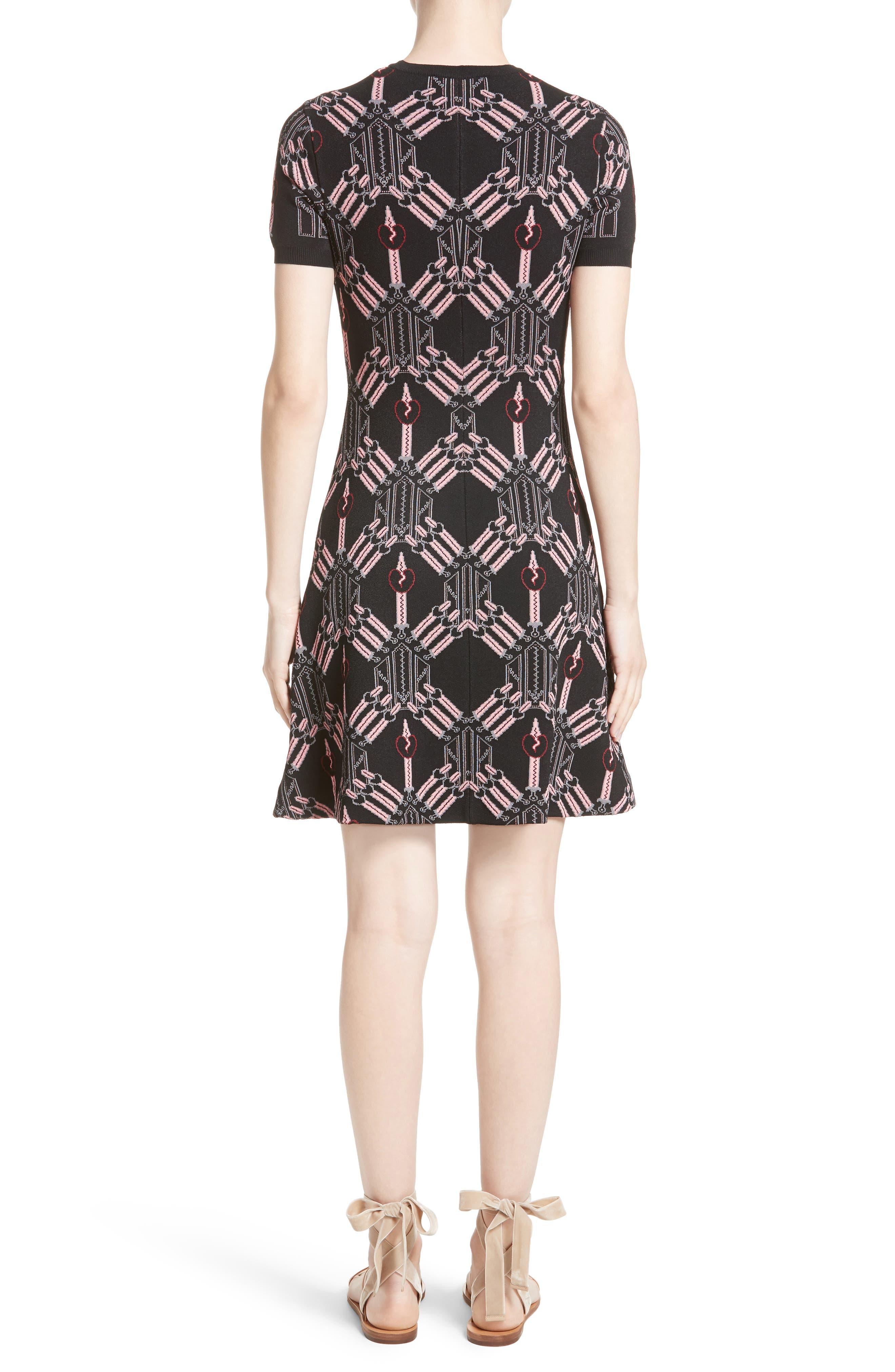Alternate Image 2  - Valentino Love Blade Fit & Flare Dress