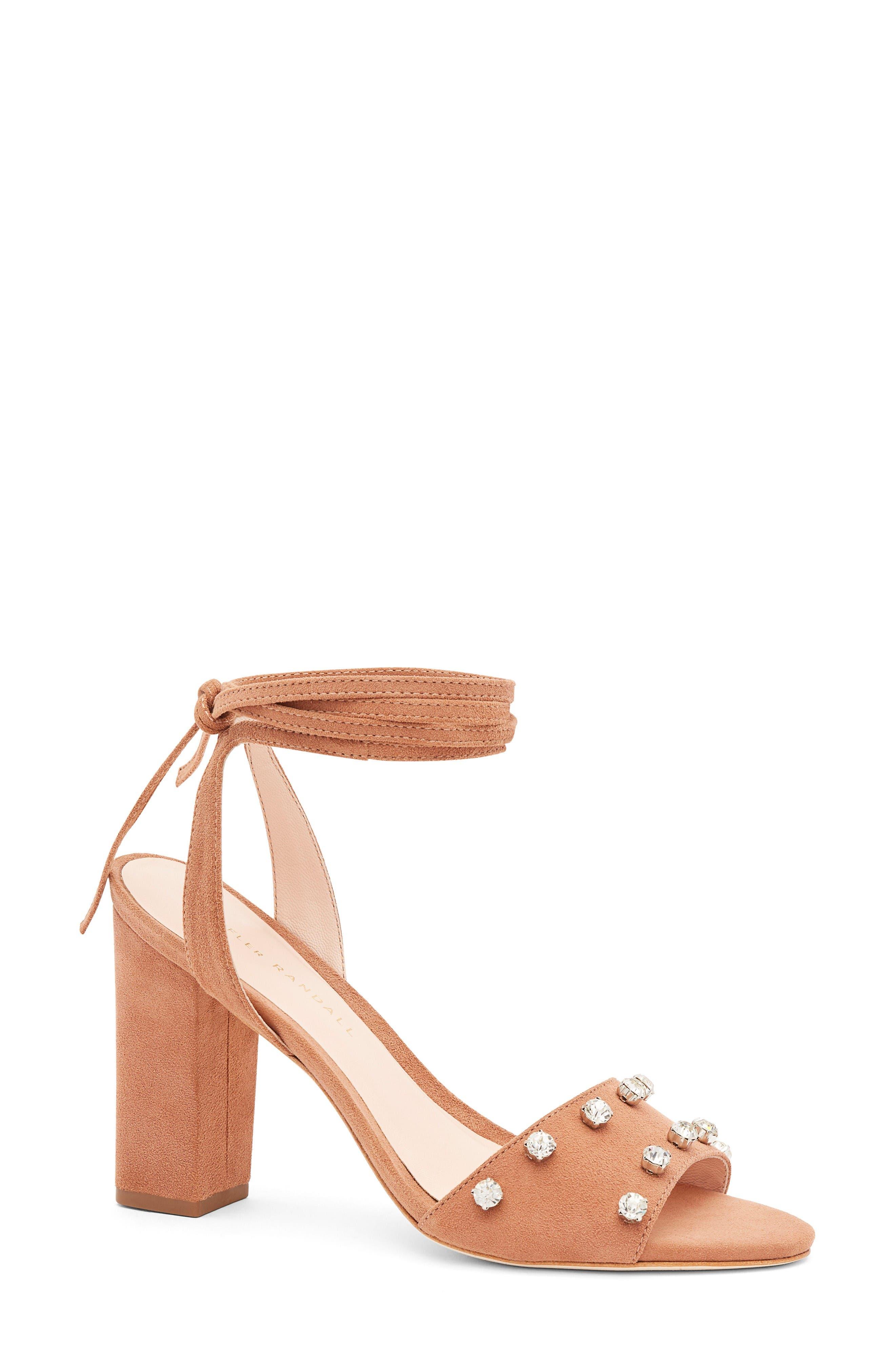 Loeffler Randall Elayna Ankle Wrap Sandal (Women)