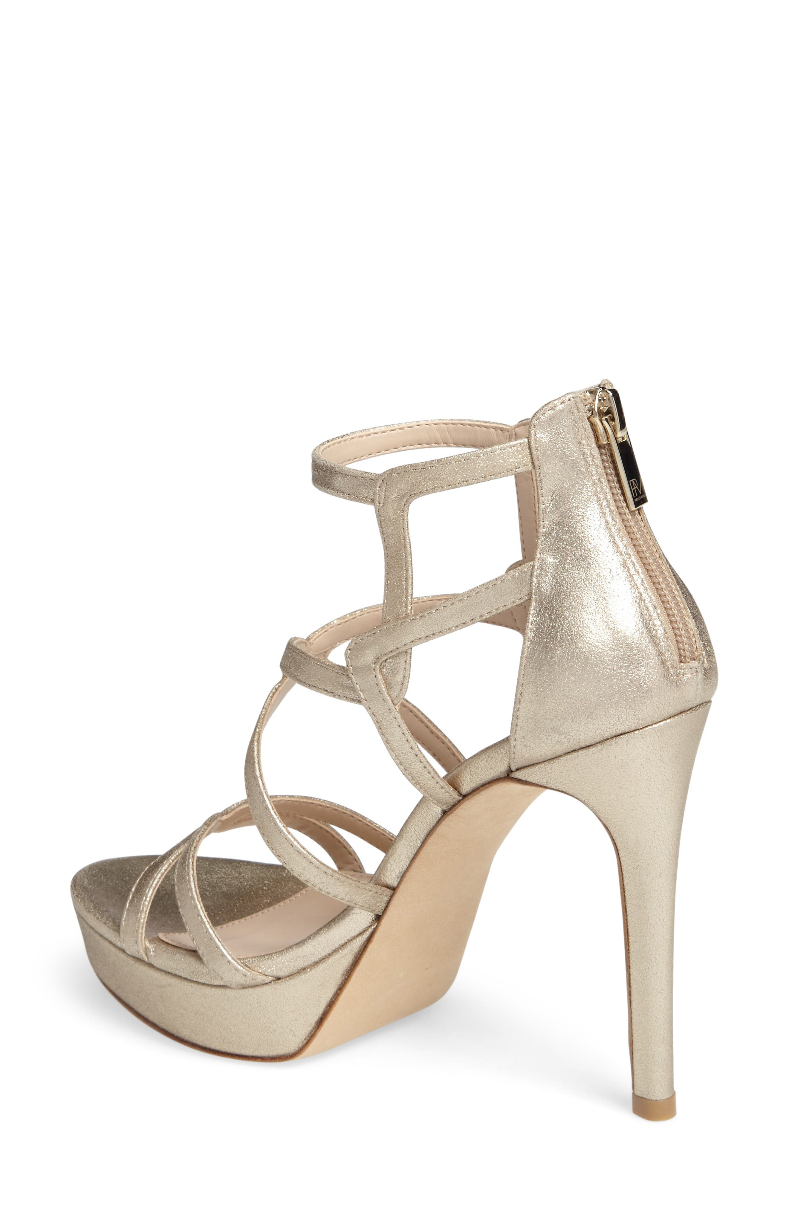Alternate Image 2  - Pelle Moda Olympic Platform Sandal (Women)