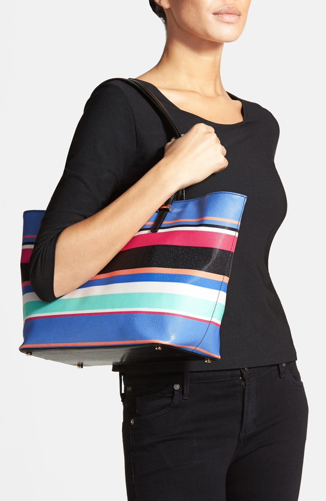 Alternate Image 2  - kate spade new york 'cedar street stripe - small harmony' tote