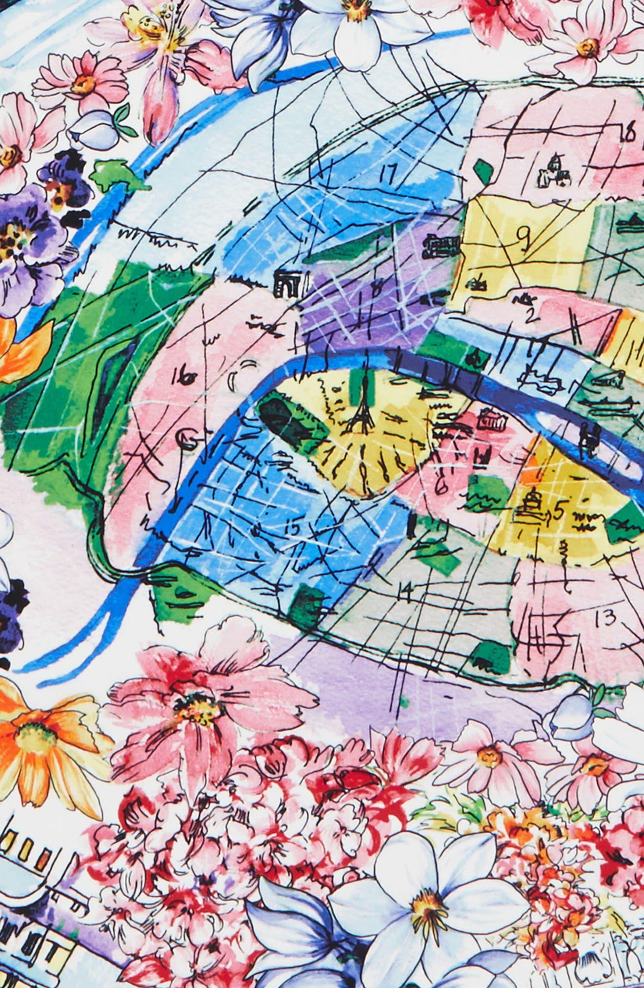 Alternate Image 3  - Echo Paris in the Spring Silk Square Scarf