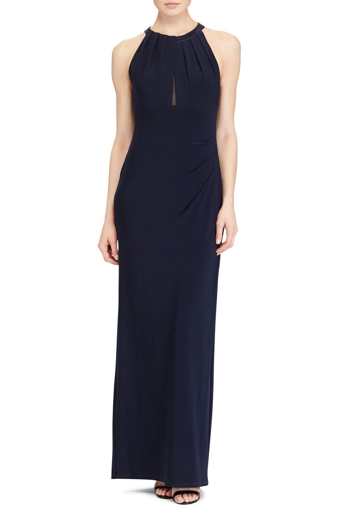 Lauren Ralph Lauren Jersey Gown (Regular & Petite)