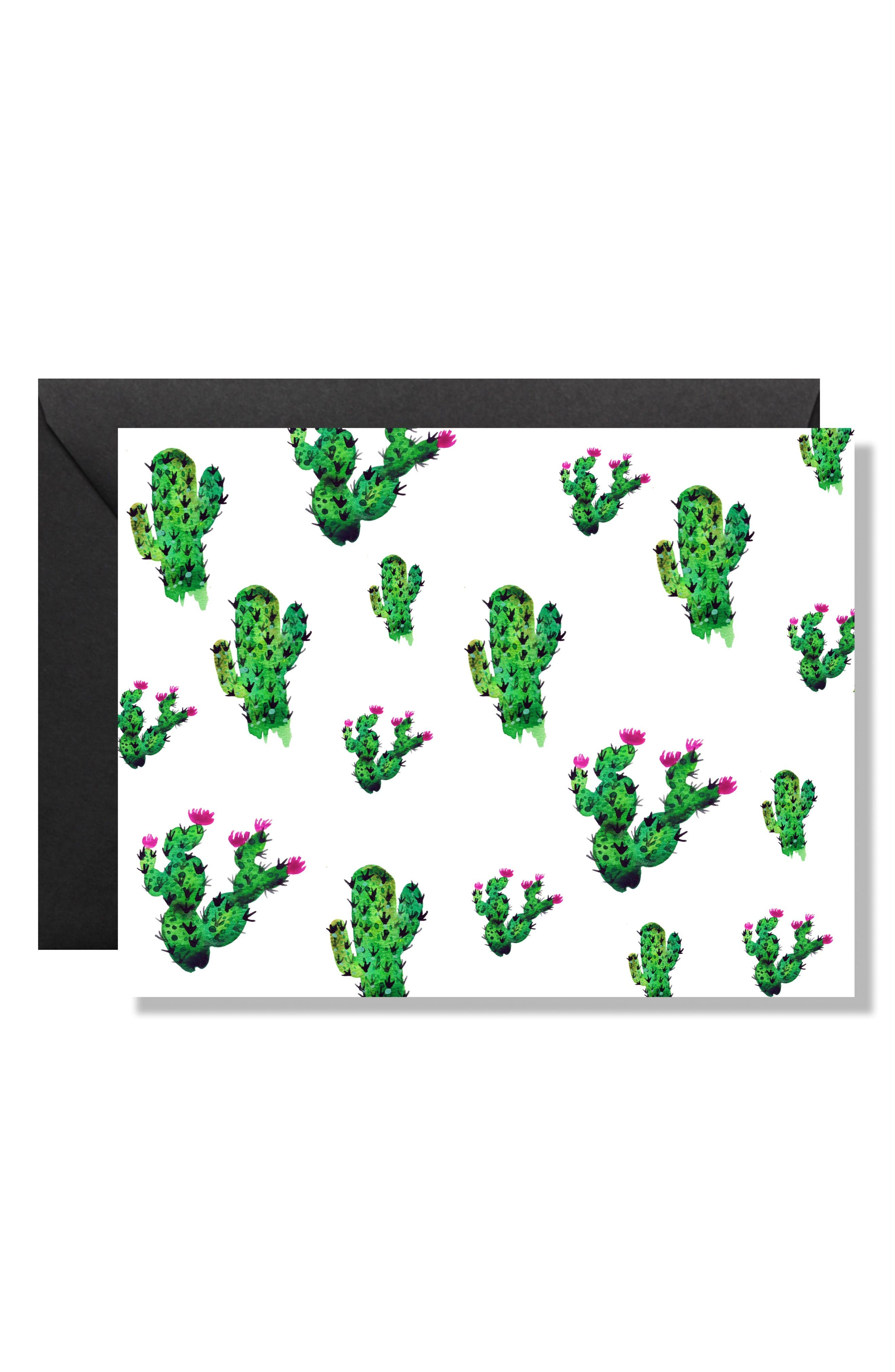 Maly Tross Paper Collective Set of 8 Cactus Note Cards