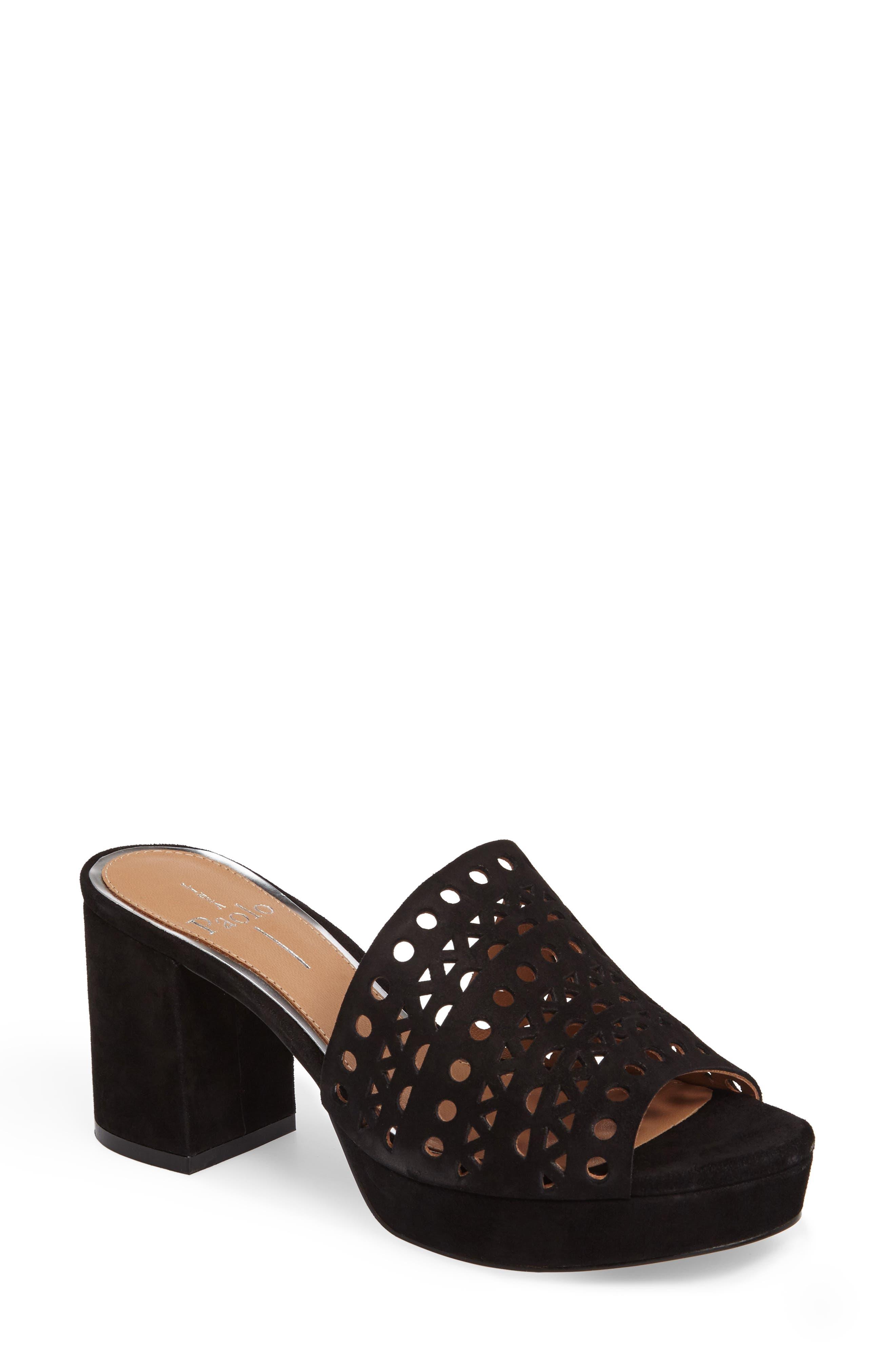 Linea Paolo Ofra Block Heel Mule (Women)