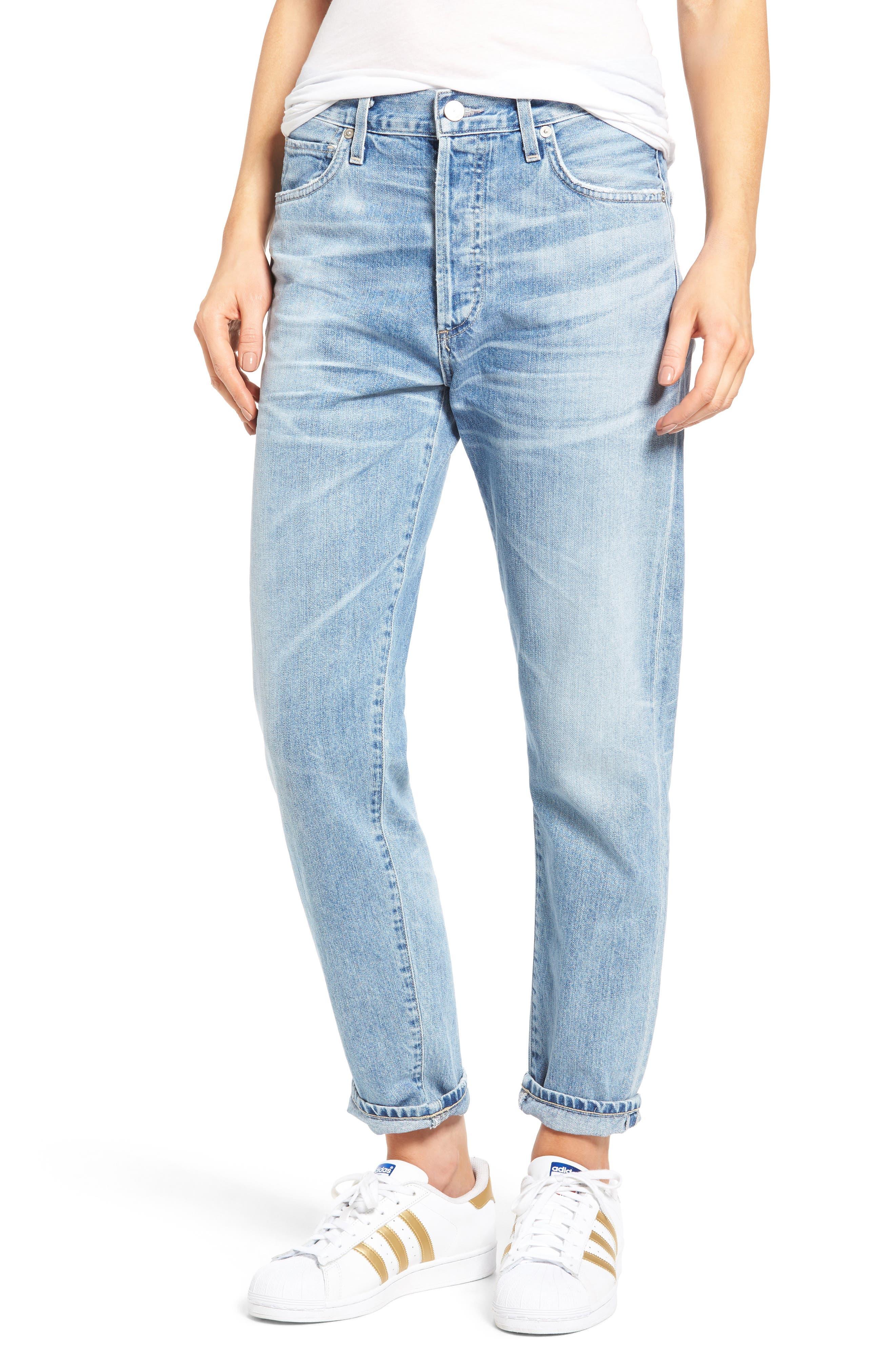 Citizens of Humanity Liya High Waist Boyfriend Jeans (Sunday Morning)