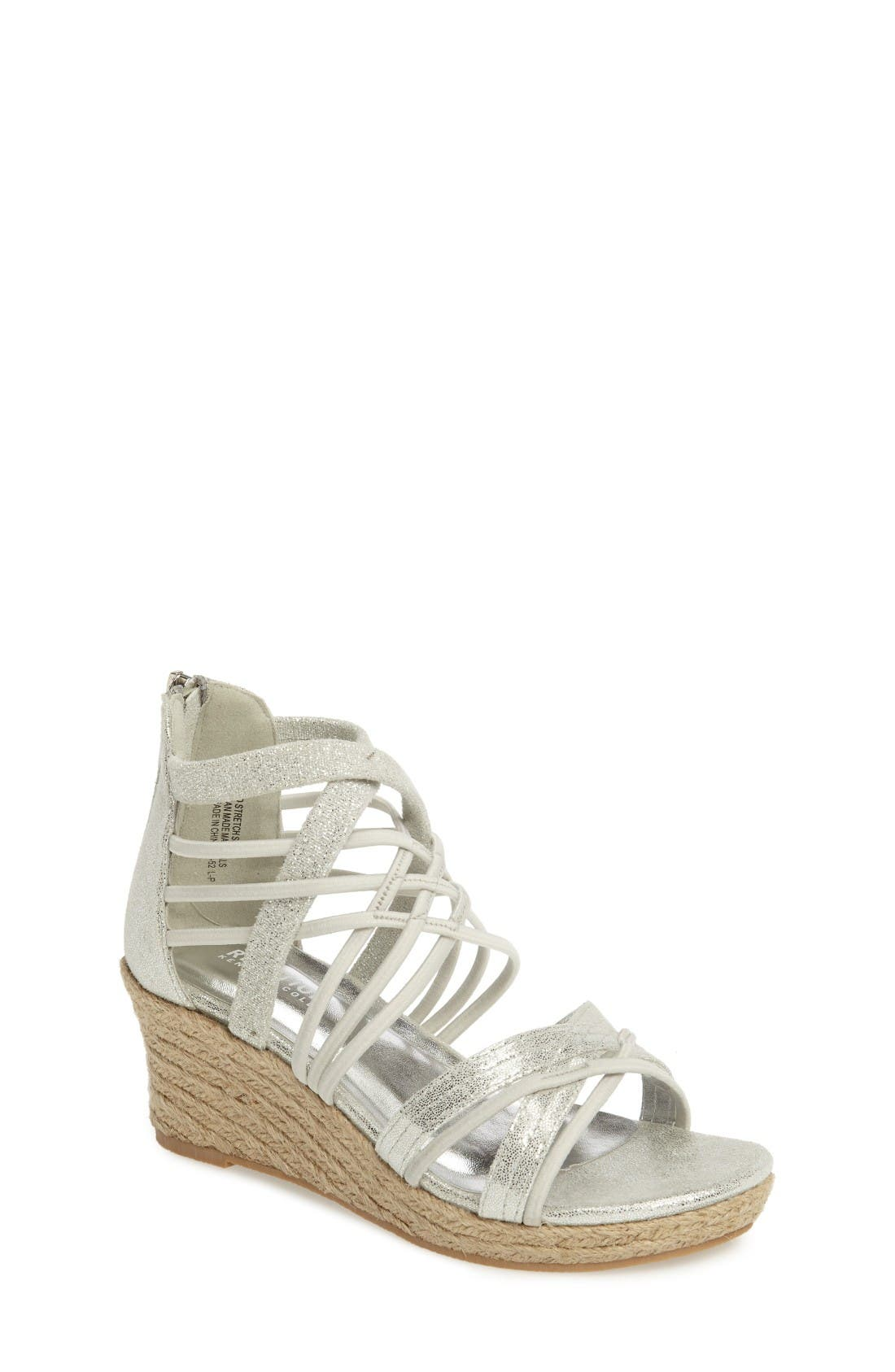 Kenneth Cole New York Reed Platform Wedge Sandal (Toddler, Little Kid & Big Kid)