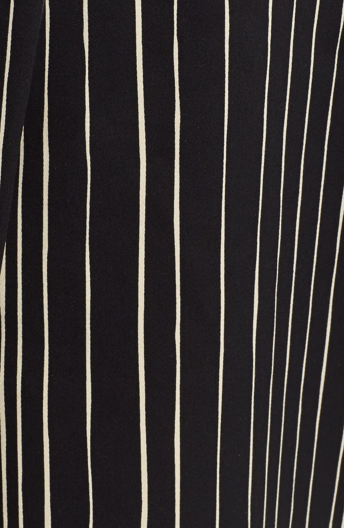 Alternate Image 5  - Alice + Olivia 'Libby' Stripe Flared Skirt