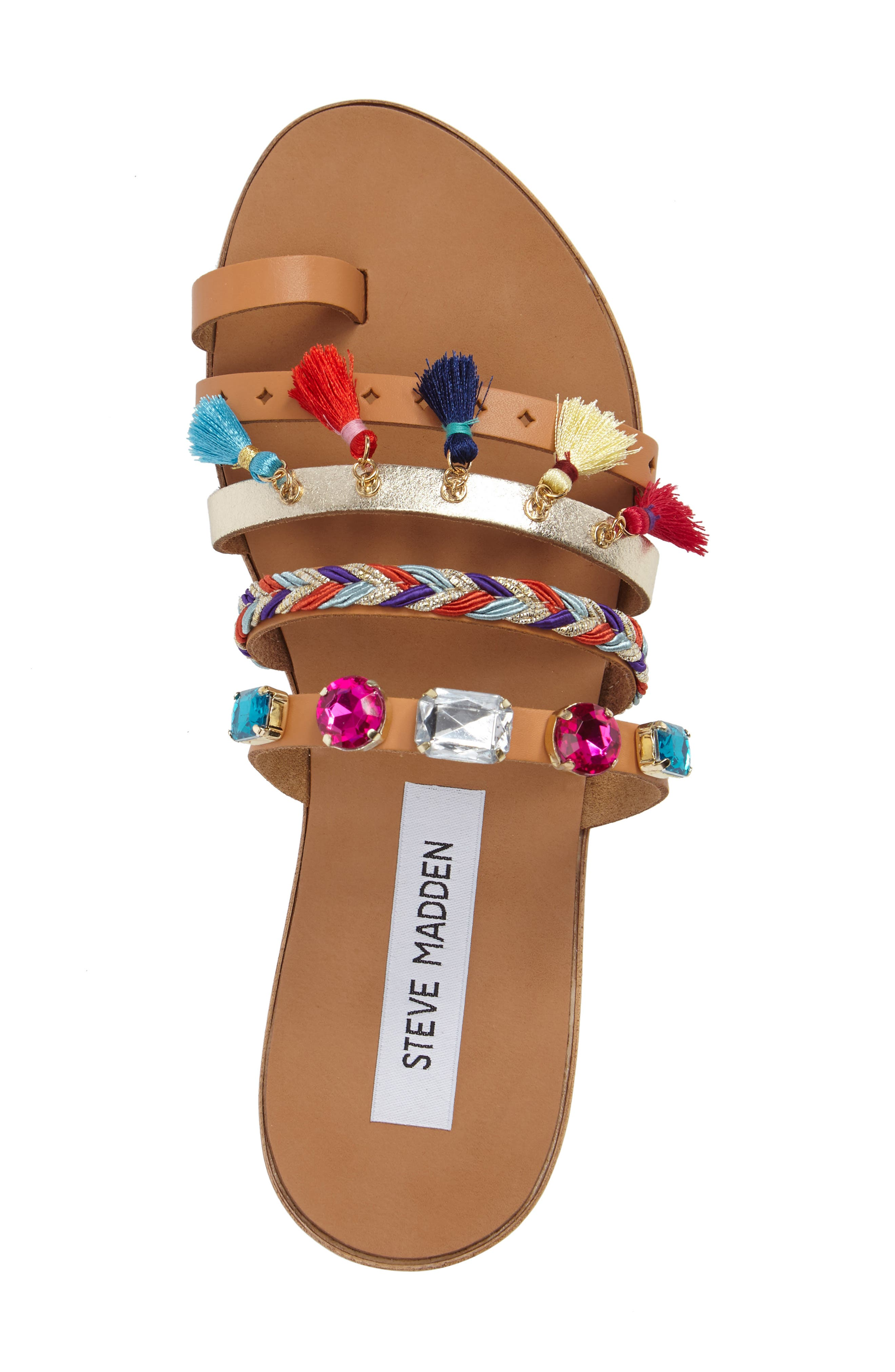 Alternate Image 5  - Steve Madden Cary Embellished Sandal (Women)