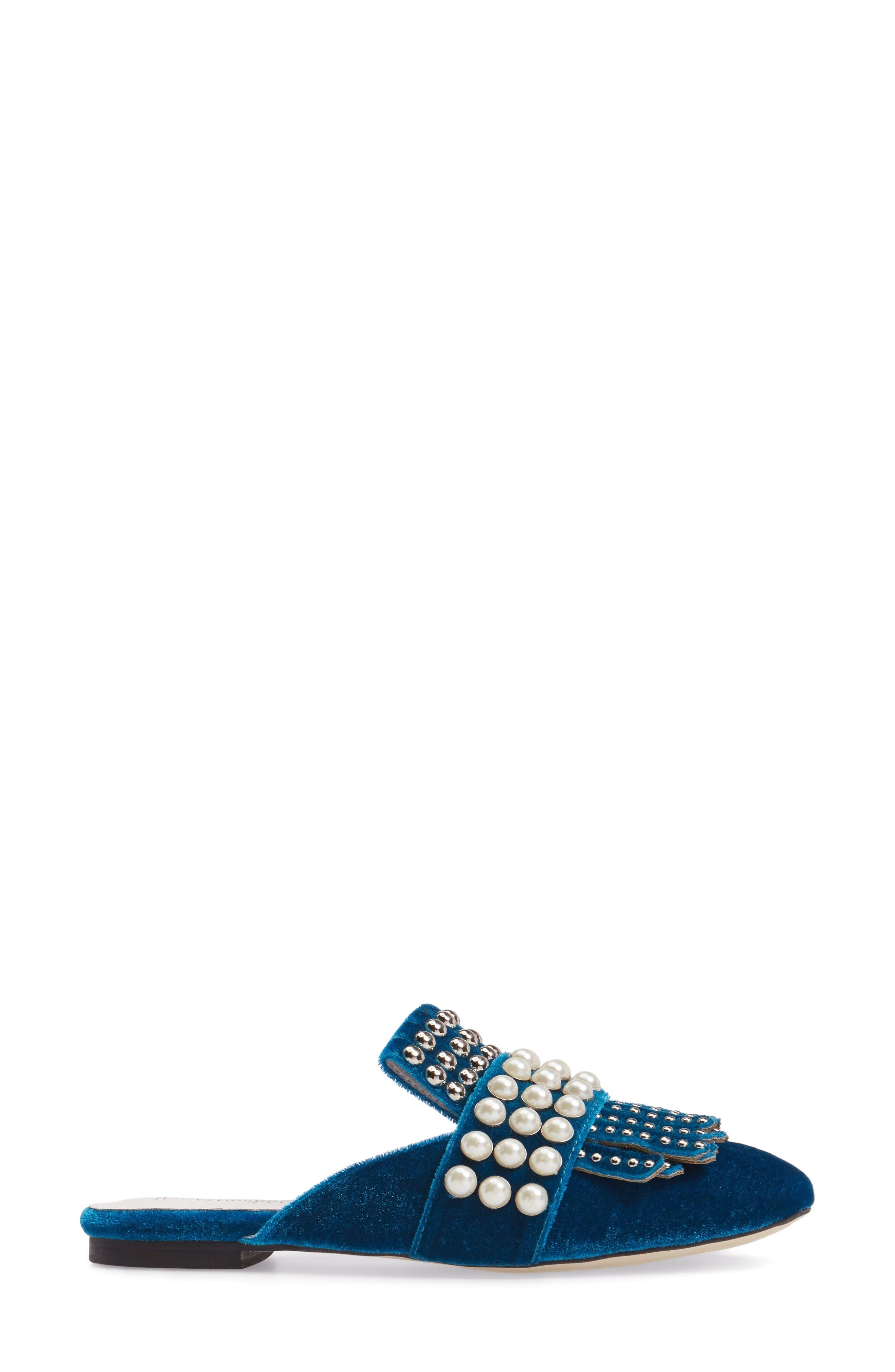 Alternate Image 3  - Jeffrey Campbell Ravis Embellished Loafer Mule (Women)