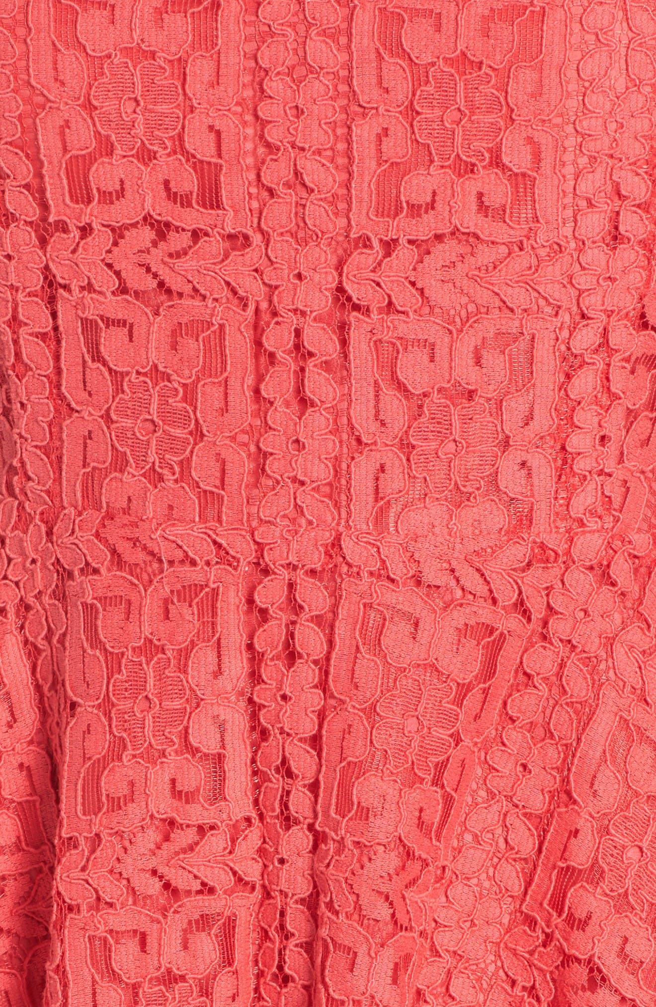 Alternate Image 6  - BB Dakota Paloma Lace Fit & Flare Dress