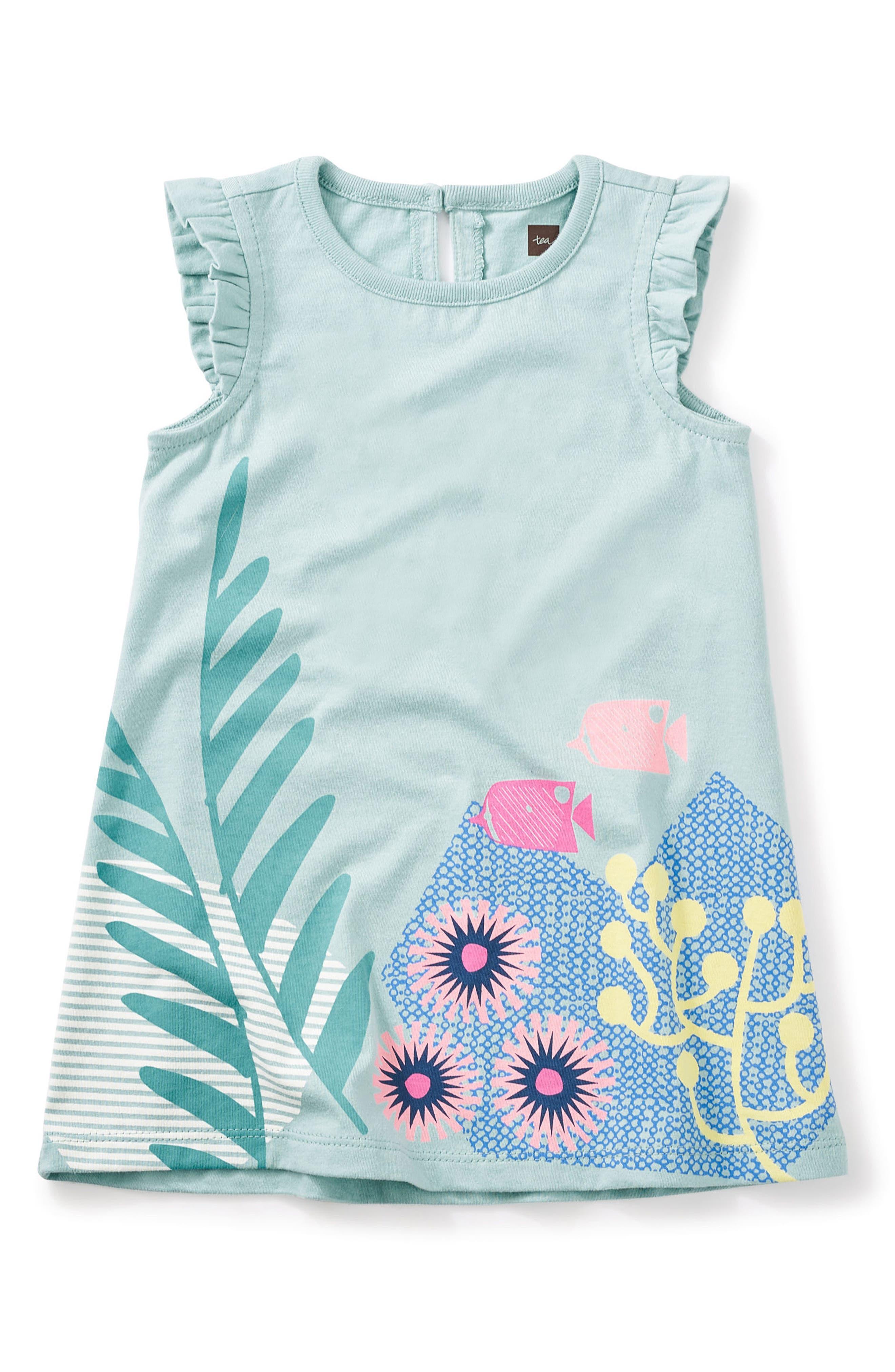 Tea Collection Ningaloo Graphic Dress (Baby Girls)