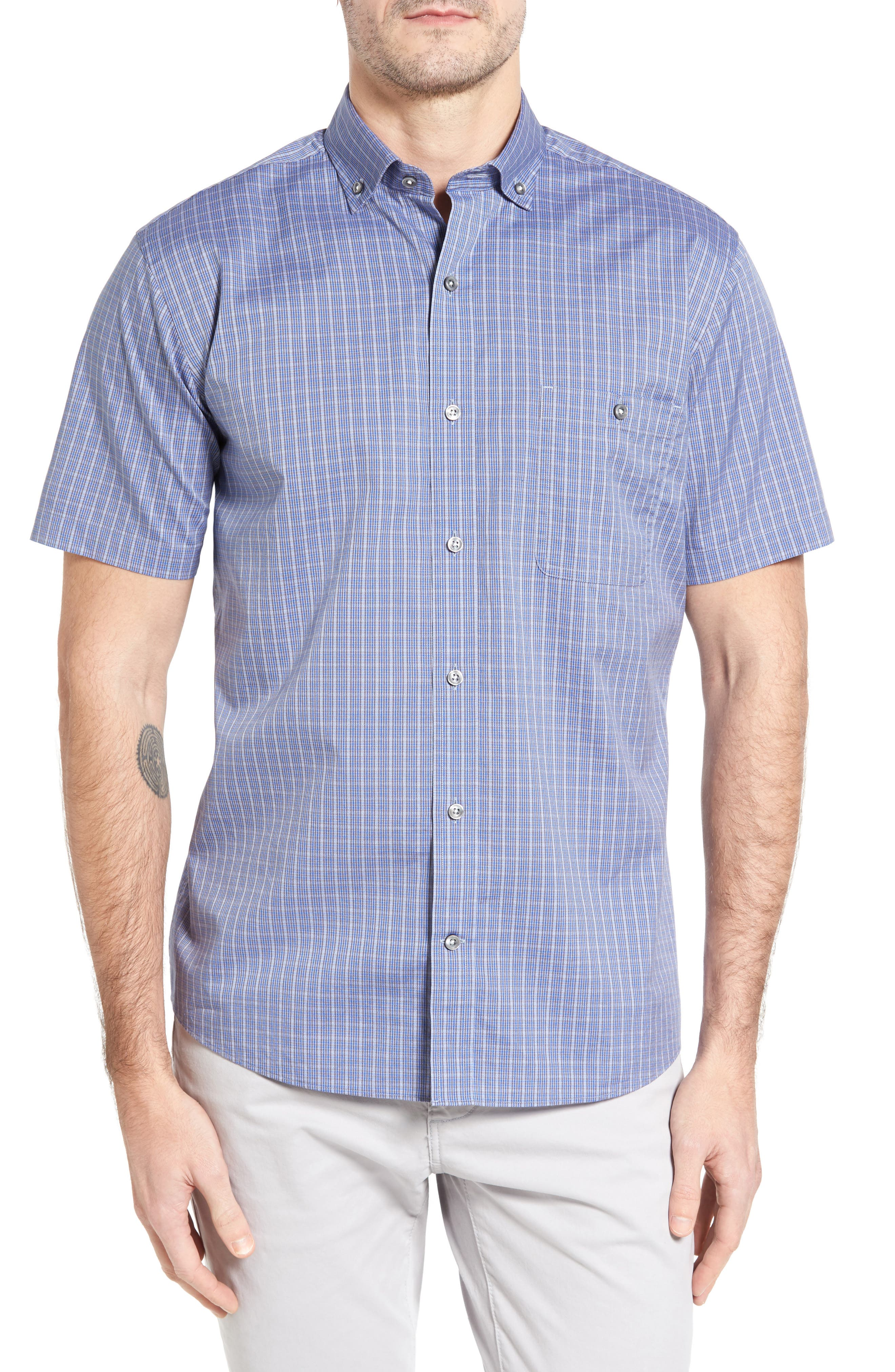 Maker & Company Jaspe Check Sport Shirt