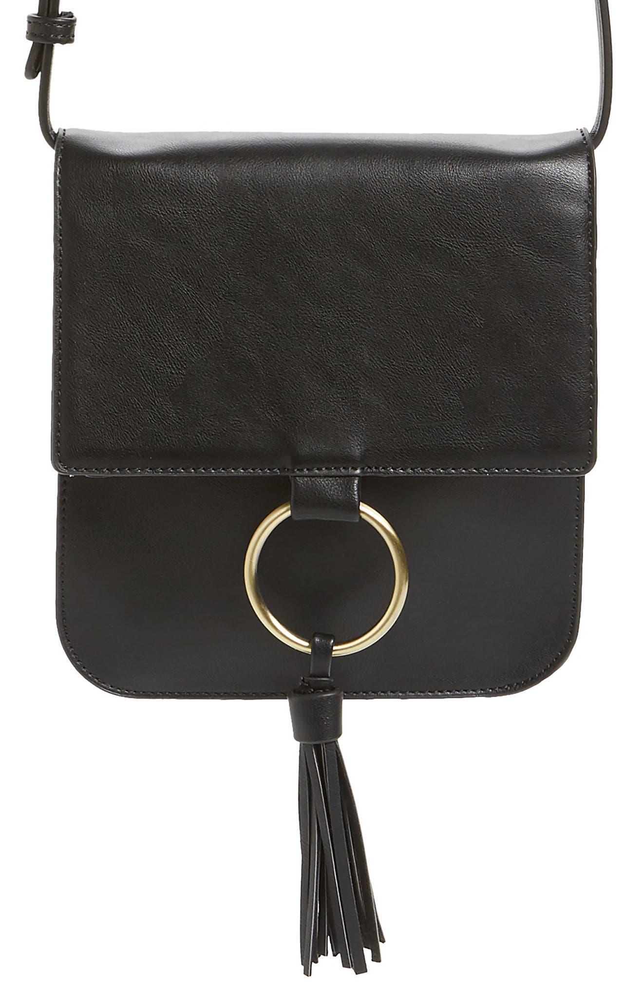 Alternate Image 4  - Sole Society Square Crossbody Bag