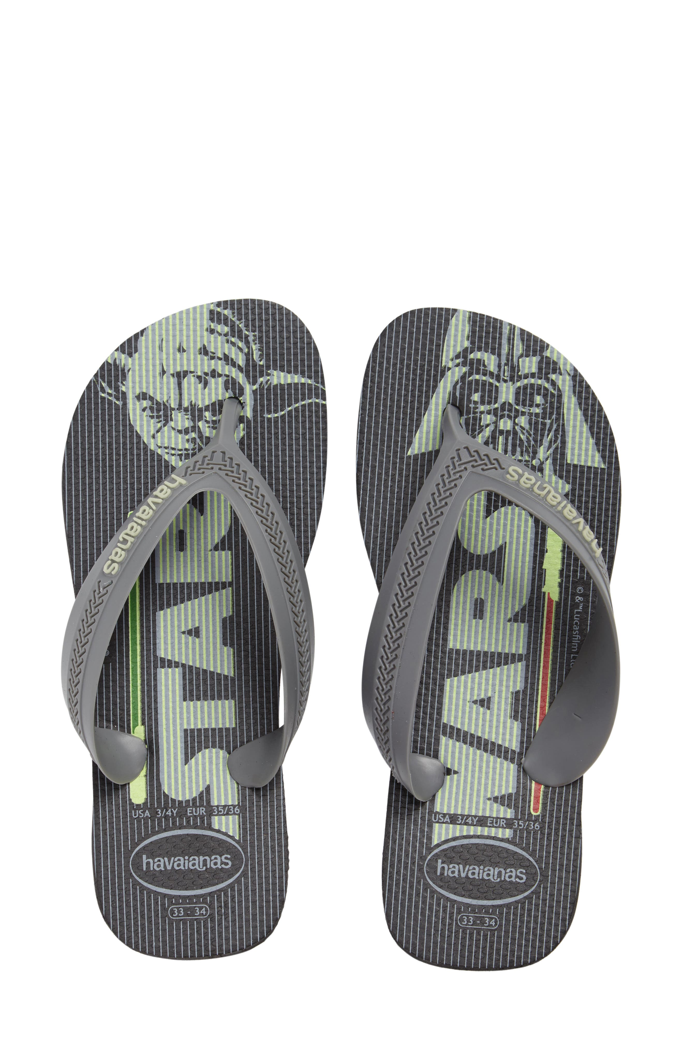 Havaianas Max Star Wars Flip Flop (Toddler & Little Kid)