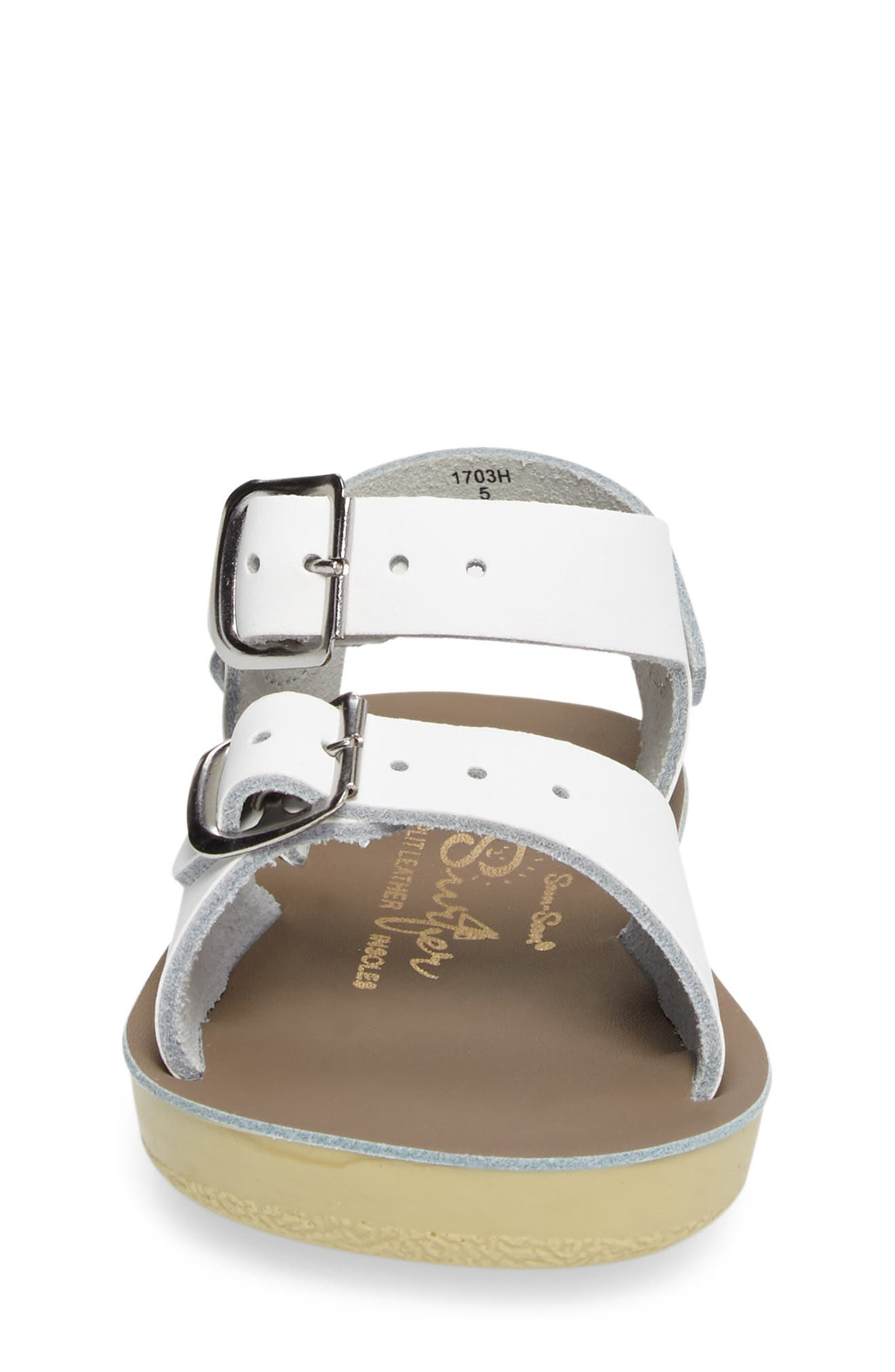 Alternate Image 4  - Salt Water Sandals by Hoy 'Surfer' Sandal (Baby, Walker, Toddler & Little Kid)