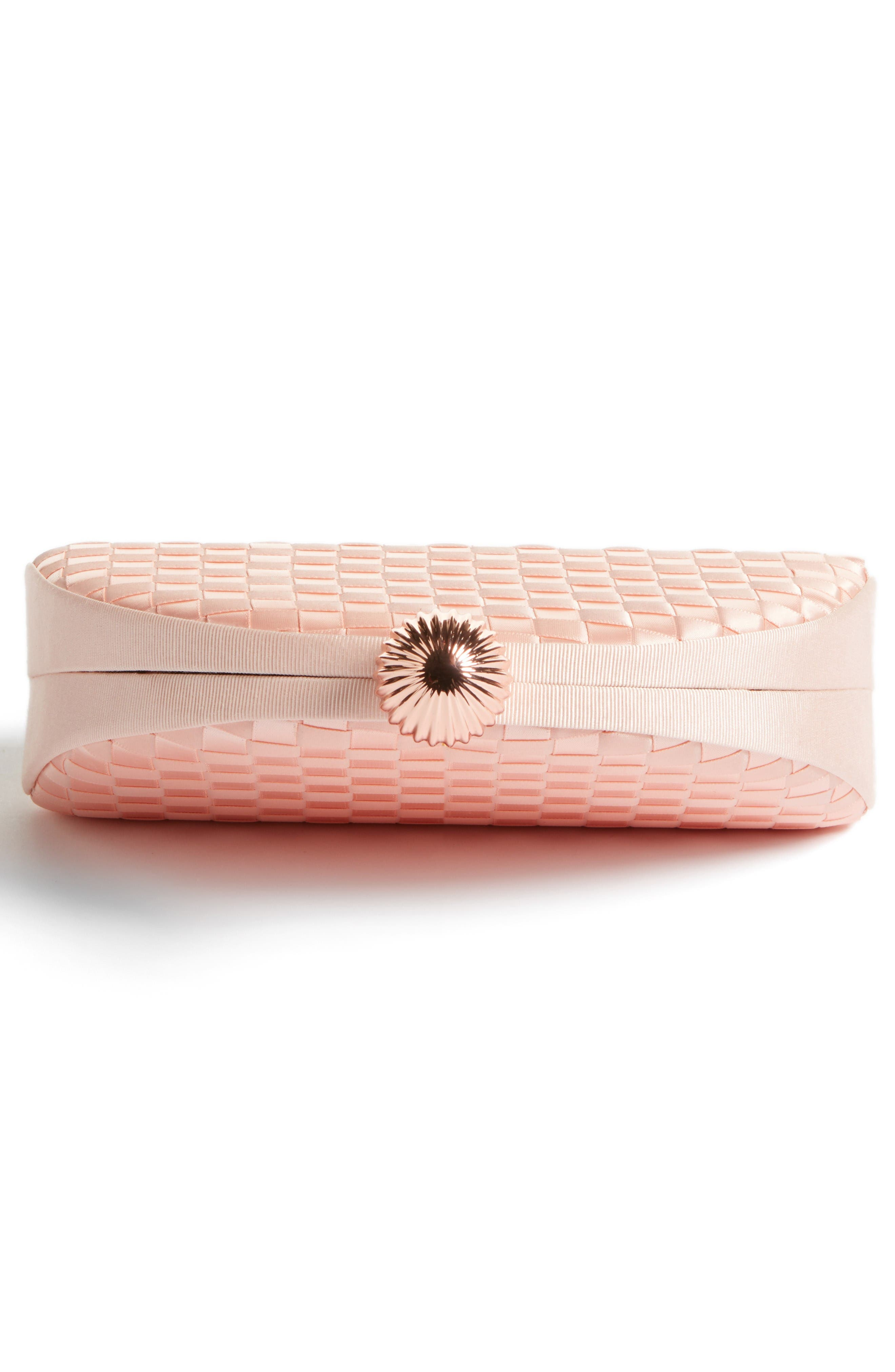 Alternate Image 5  - Ted Baker London Woven Dome Clutch