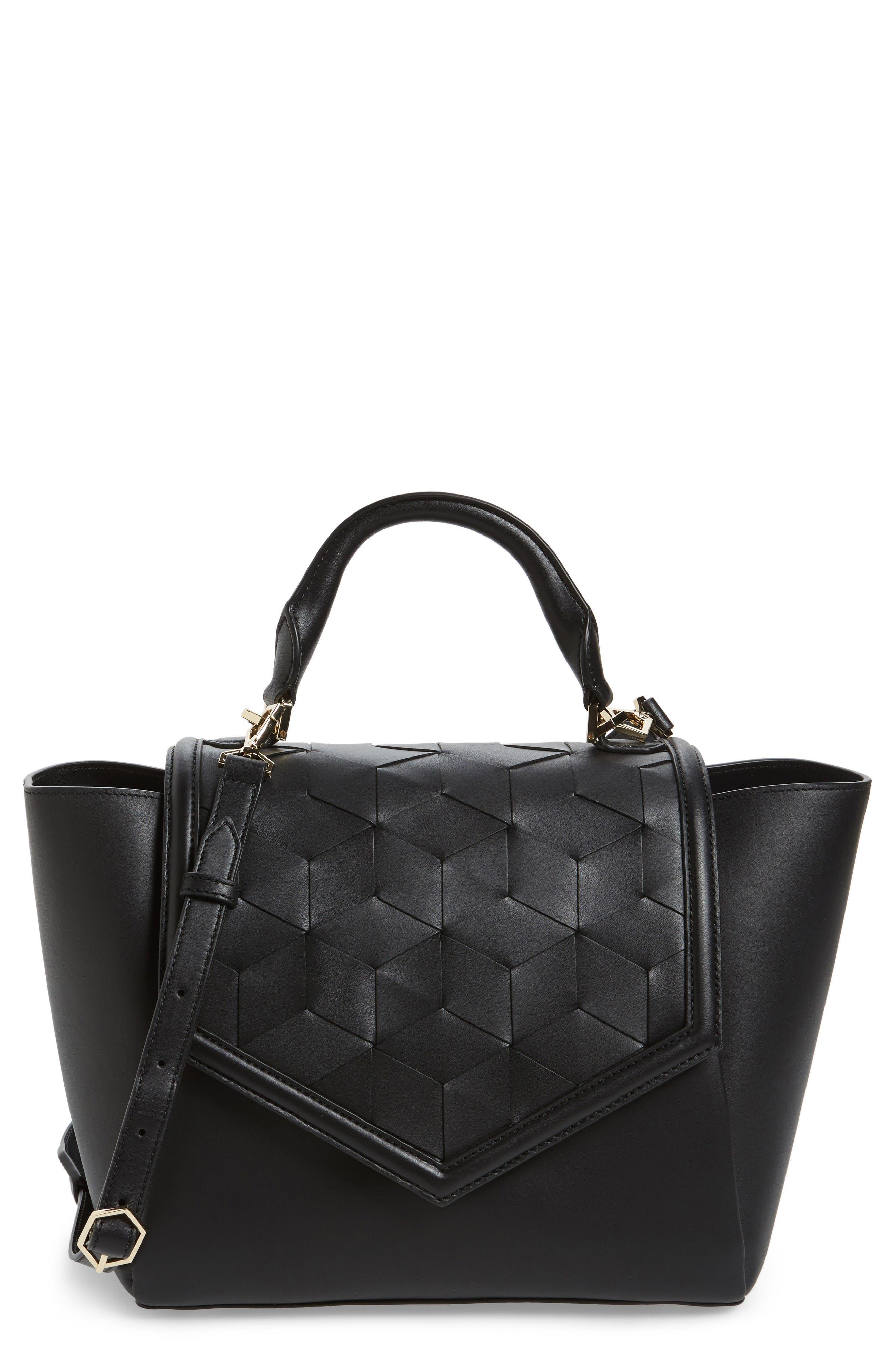 WELDEN Saunter Calfskin Leather Top Handle Satchel
