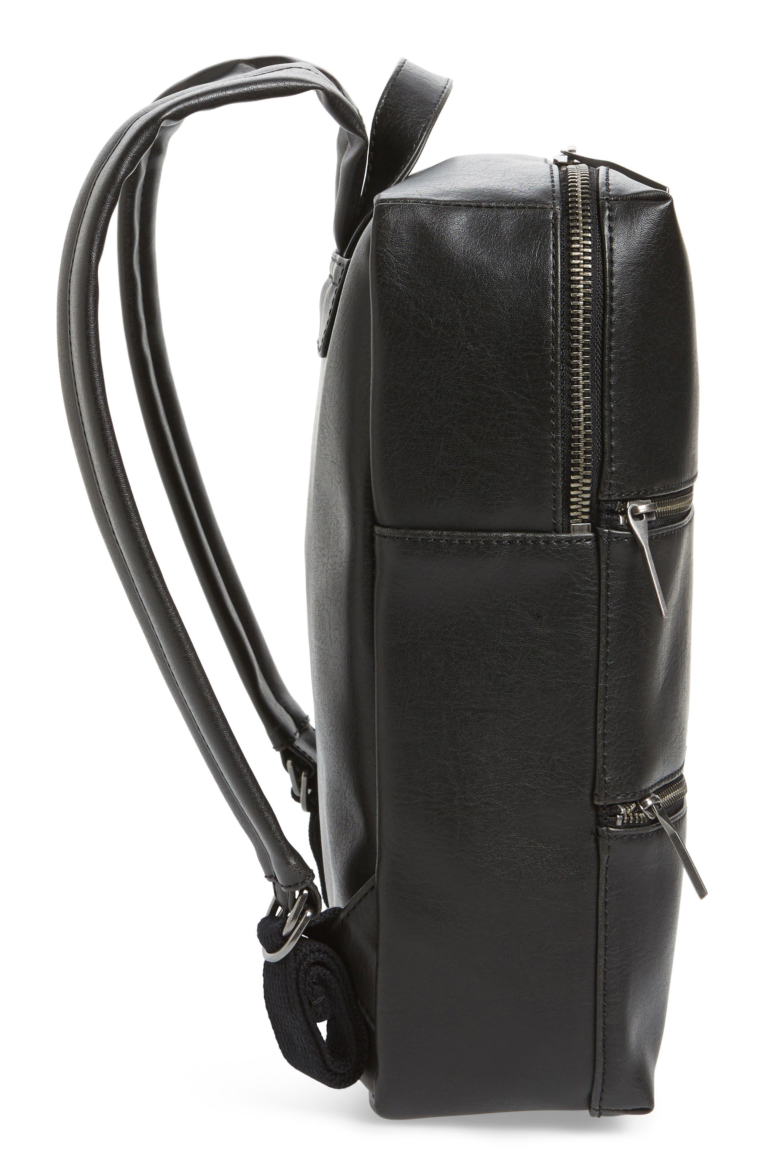 Alternate Image 5  - Matt & Nat Slate Faux Leather Backpack