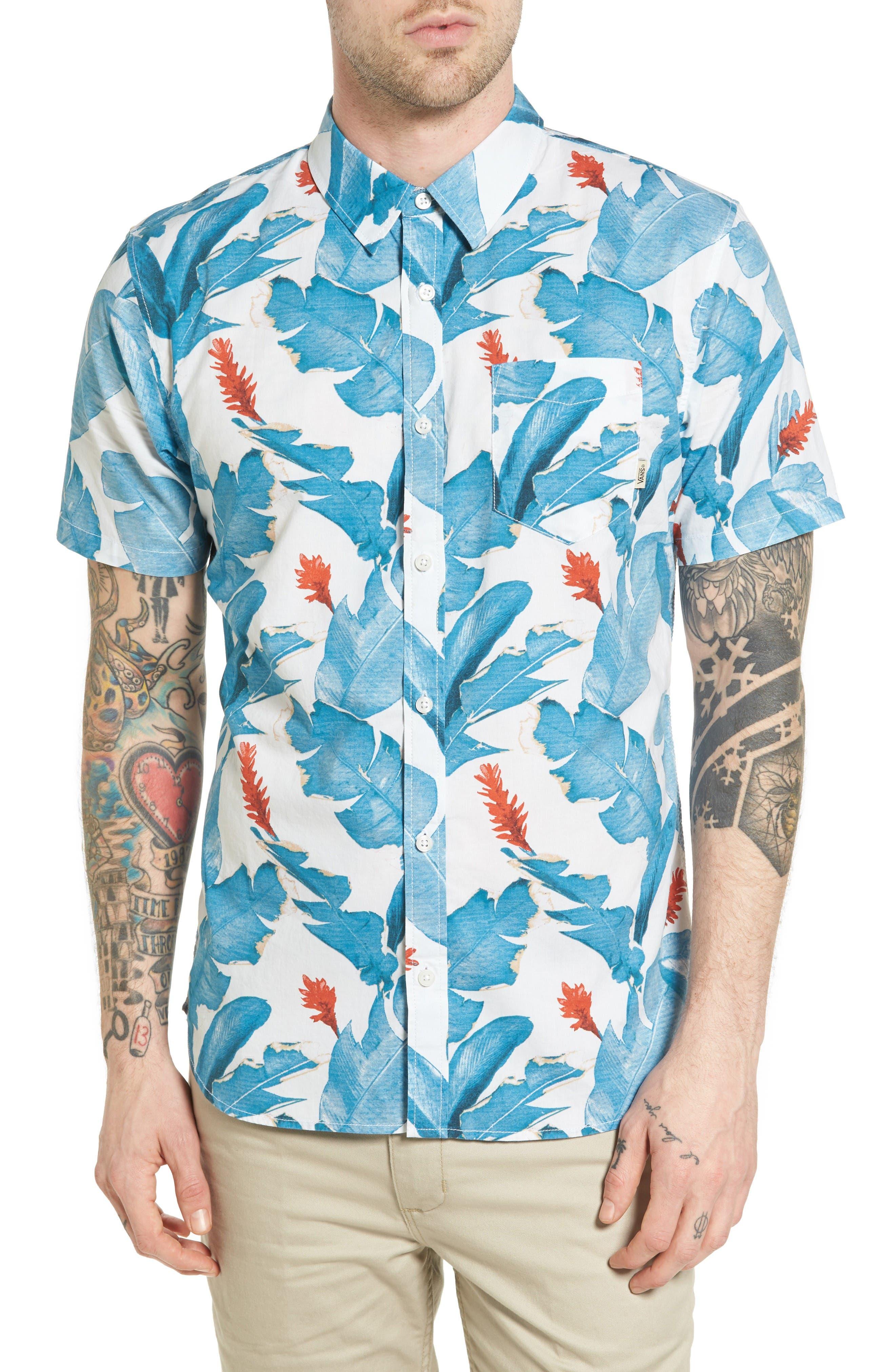 Vans Bonsai Print Woven Shirt