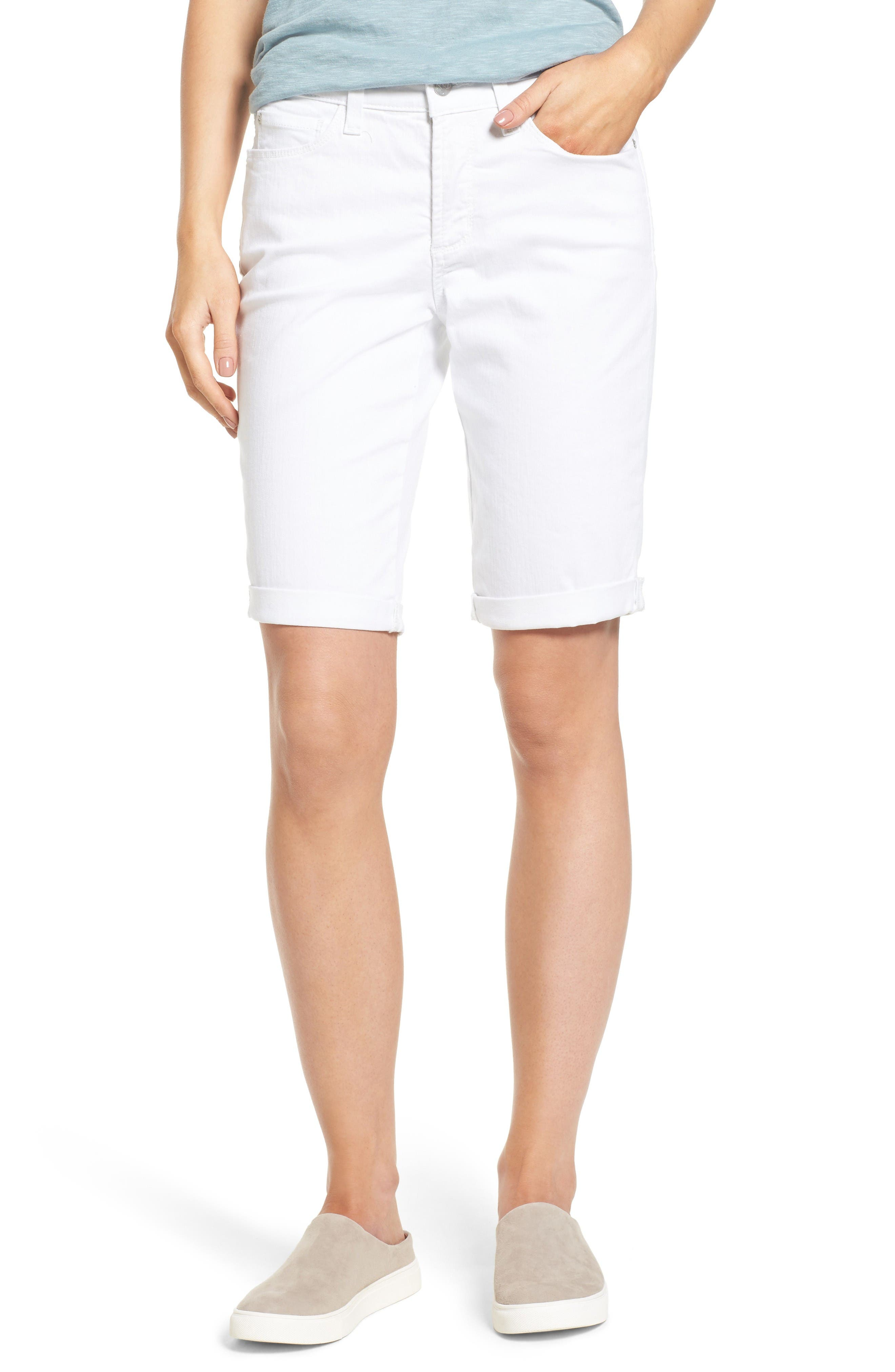NYDJ Briella Roll Cuff Denim Shorts (Regular & Petite)