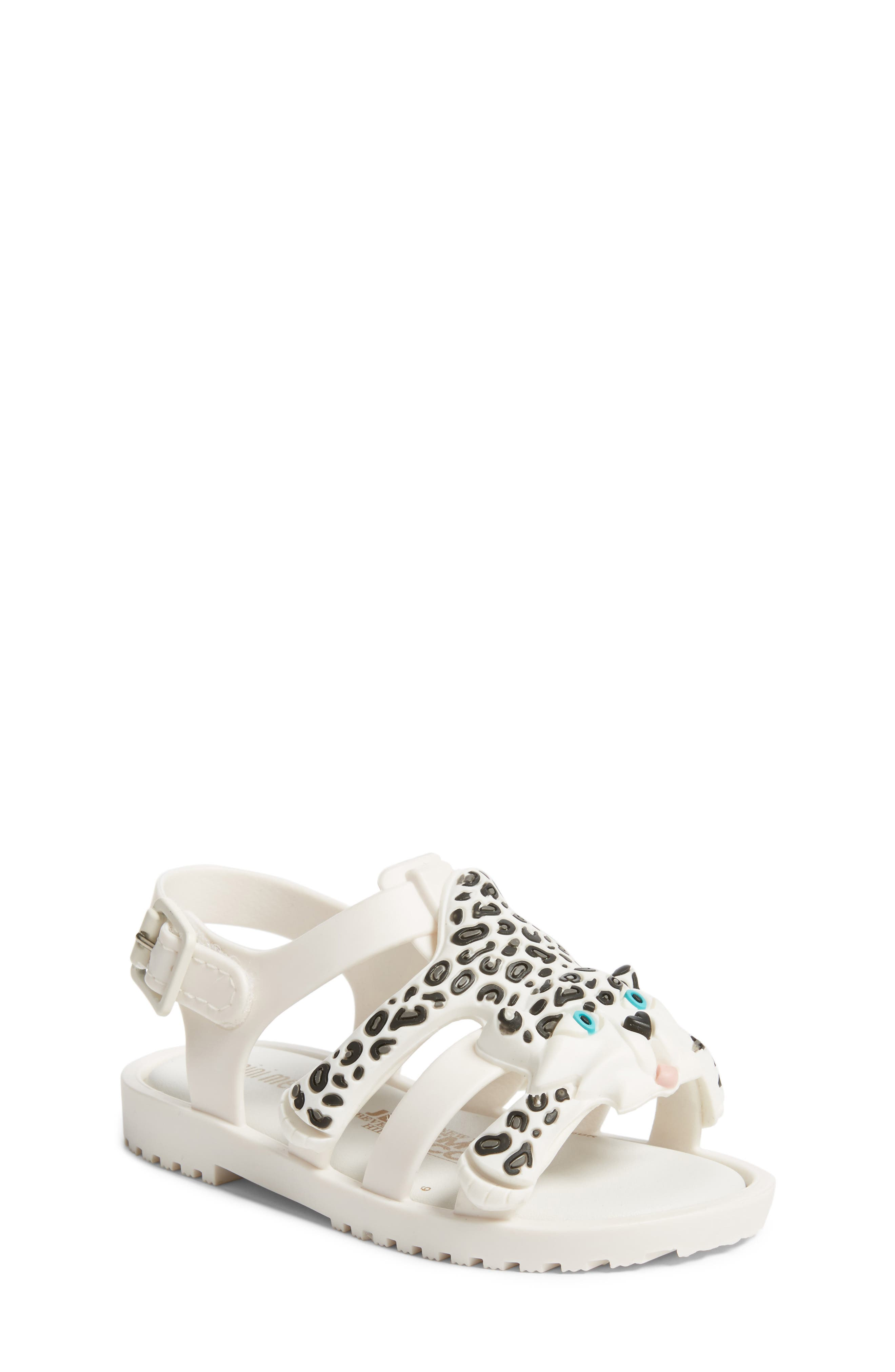 Mini Melissa x Jeremy Scott Flox Sandal (Walker & Toddler)