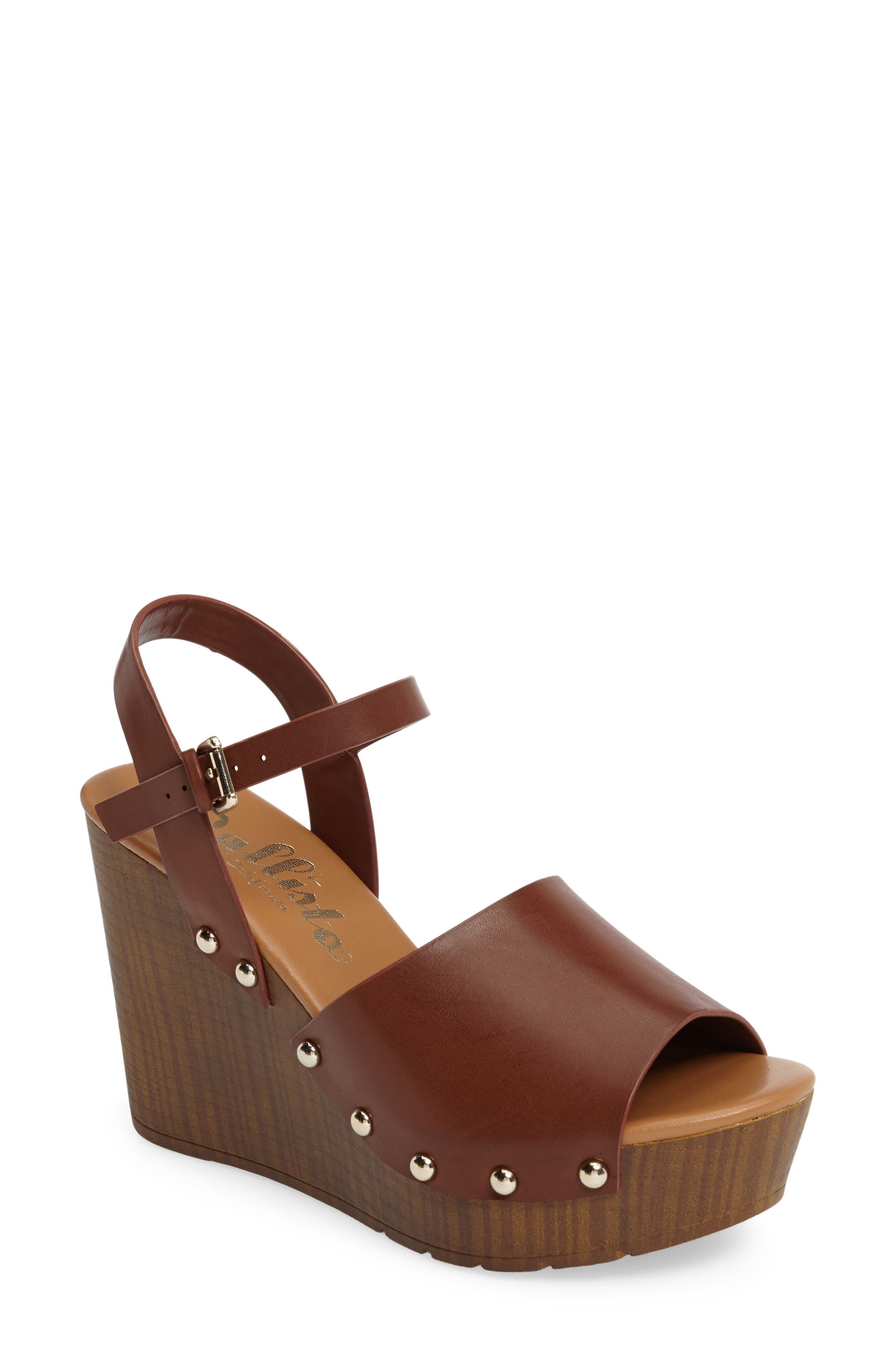 Callisto Sadler Wedge Sandal (Women)